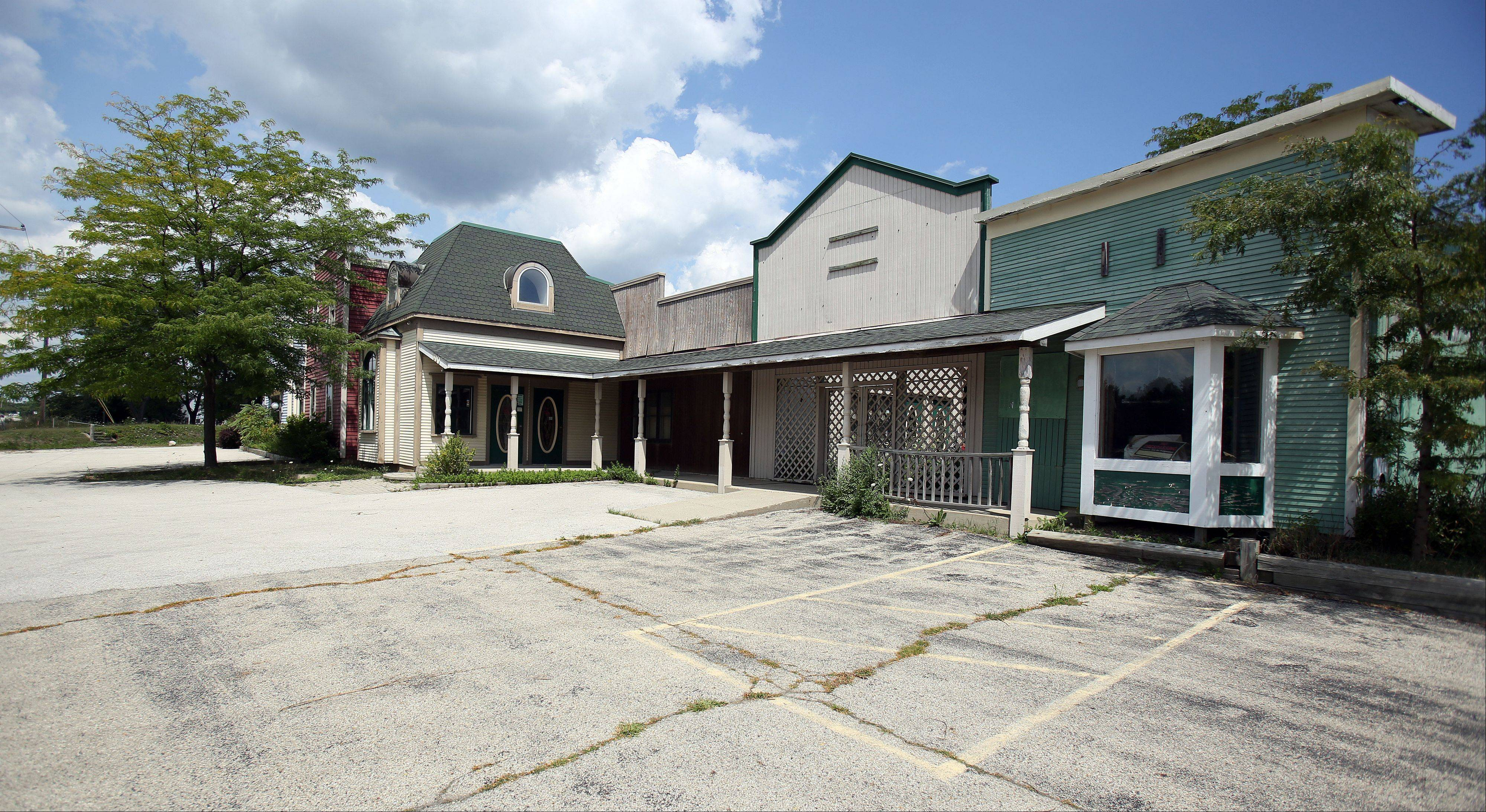 The commercial portion of the former Quig's Orchard on Route 83 in Mundelein, including the country store and restaurant, has been vacant for several years.