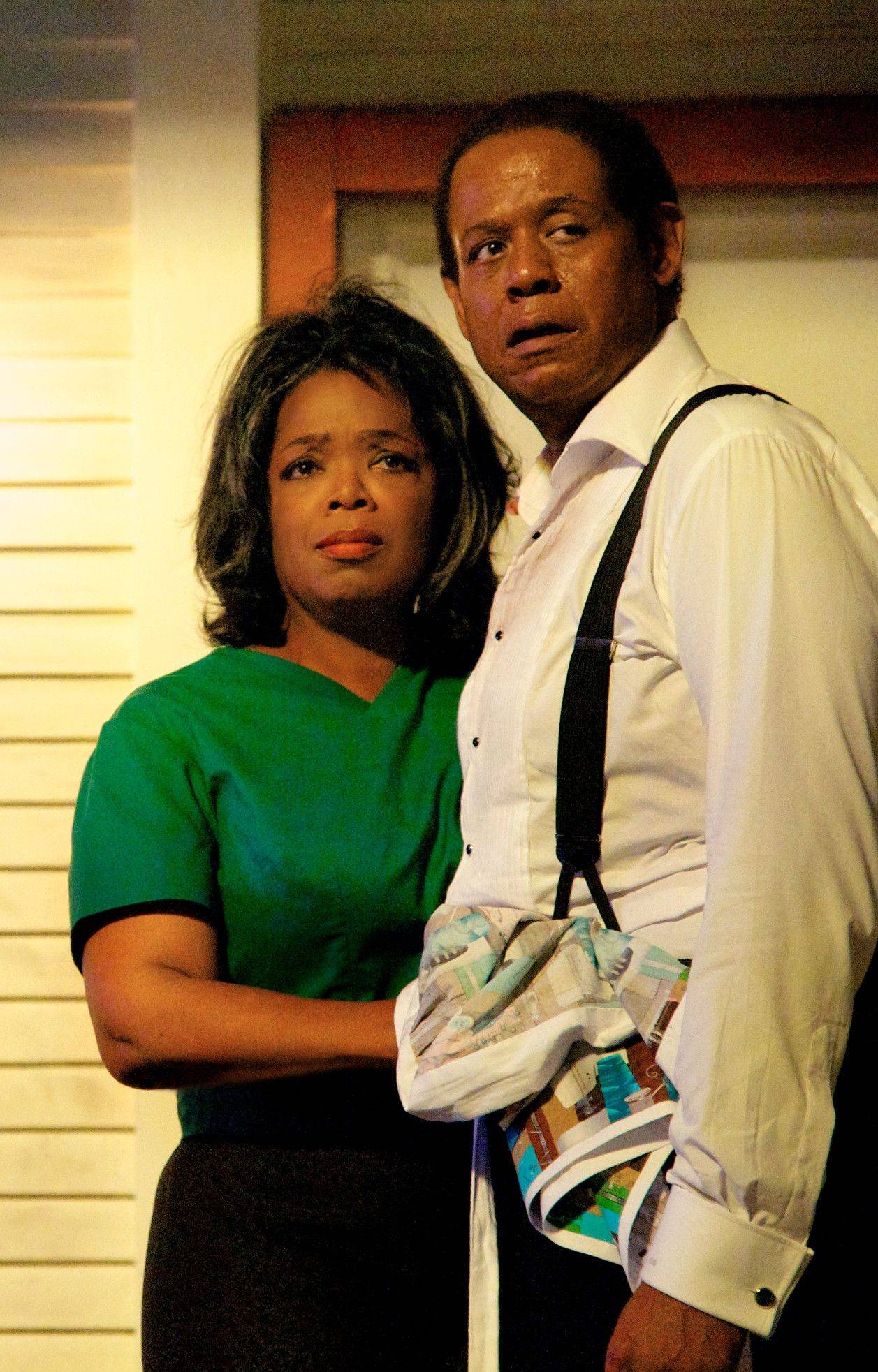 "Oprah Winfrey plays Gloria Gaines and Forest Whitaker is Cecil Gaines in ""Lee Daniels' The Butler."""