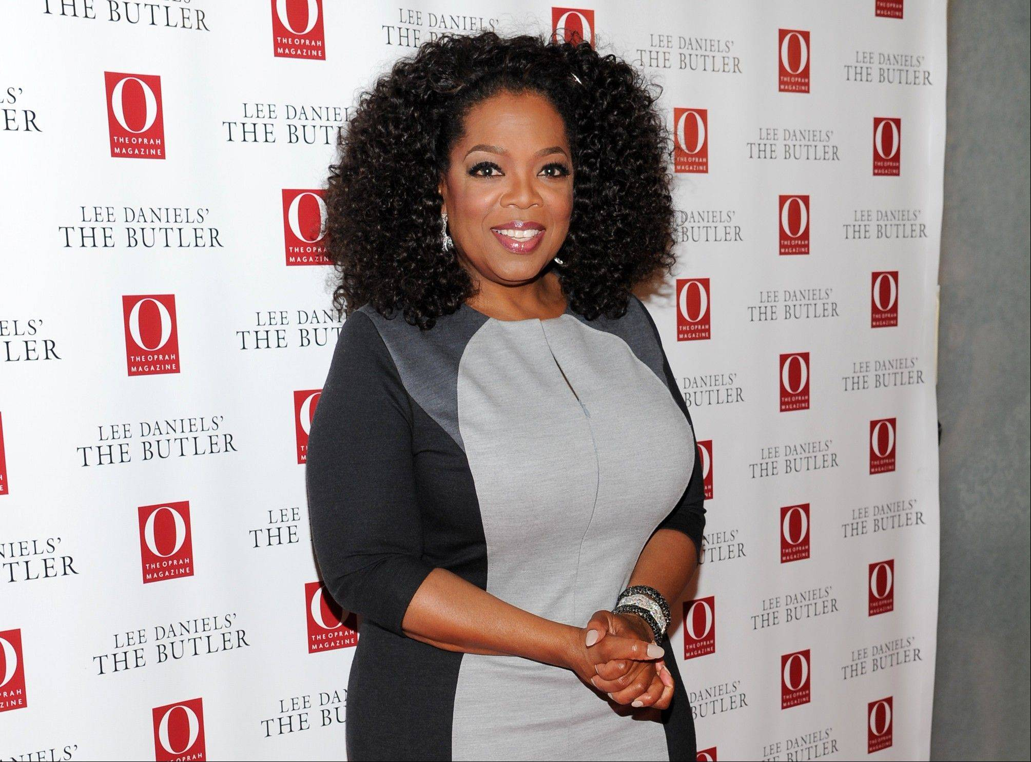 """I thought it (""The Butler"") was an important story to tell, even though I was in the midst of cra-a-a-zy business with my network,"" Oprah Winfrey says."