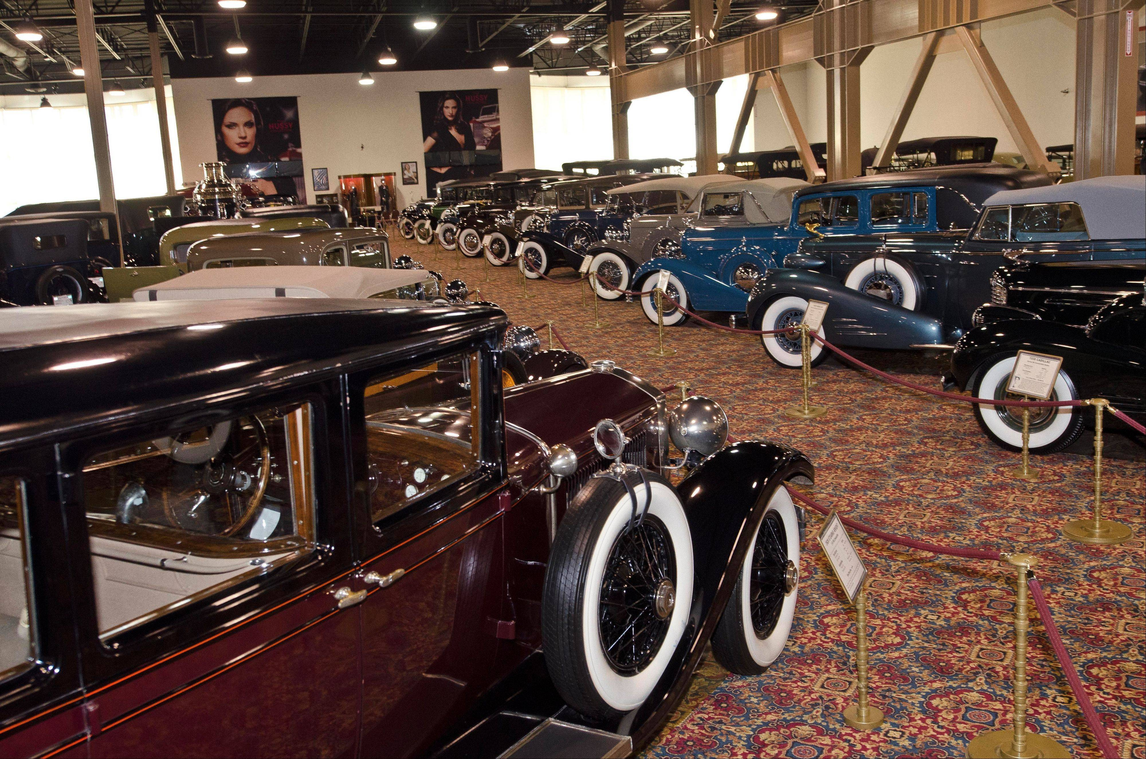 The museum now displays 200 vehicles, with another 60 cars undergoing restoration.