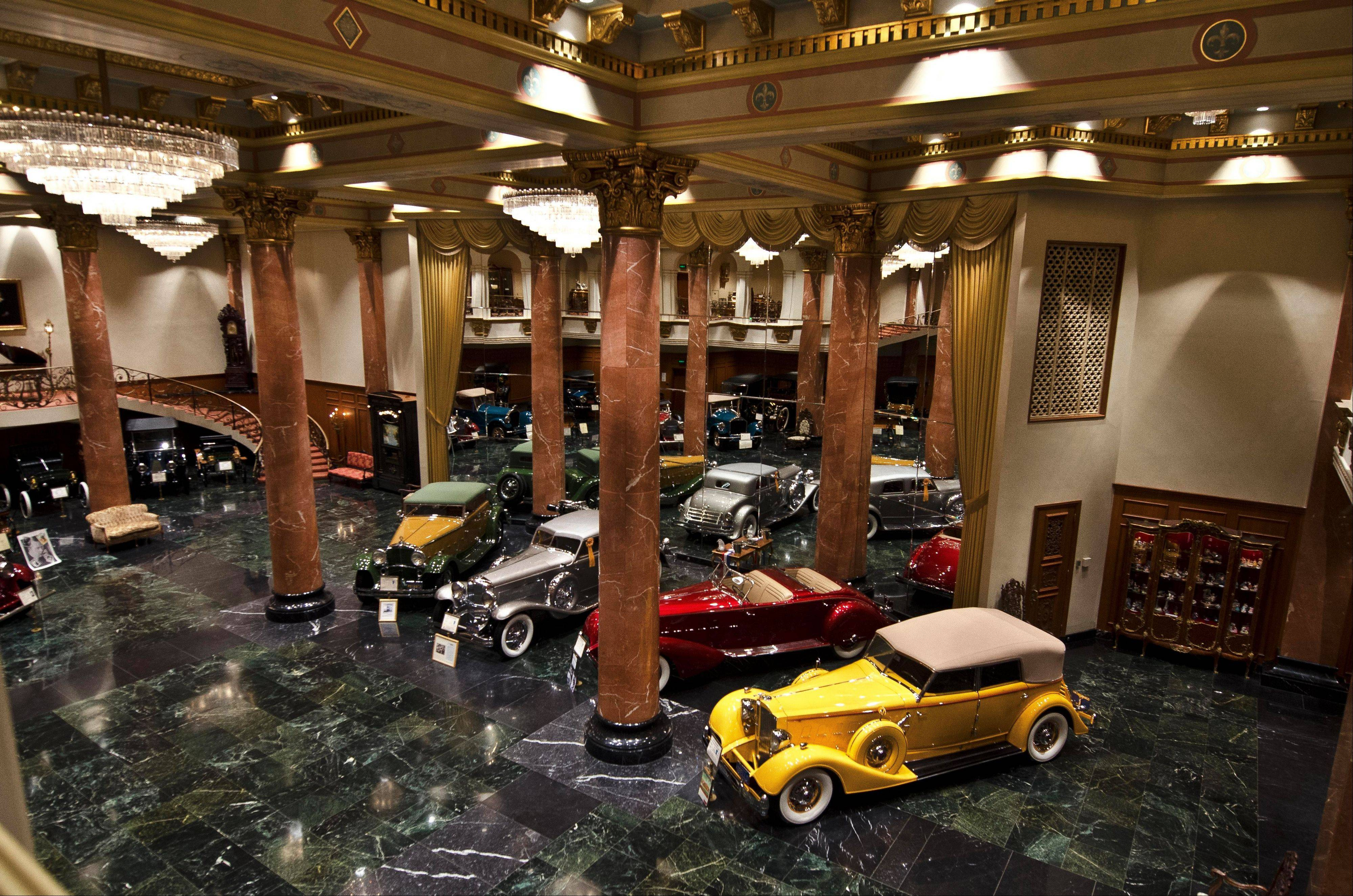 For a more exclusive look at automotive history, a tour of the Nethercutt Collection's Grand Salon is a must.