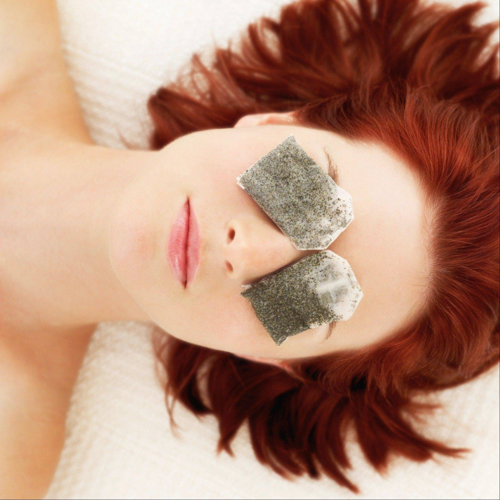 Natural beauty remedies do work. Try cool steeped green tea bags on your eyes to reduce puffiness.