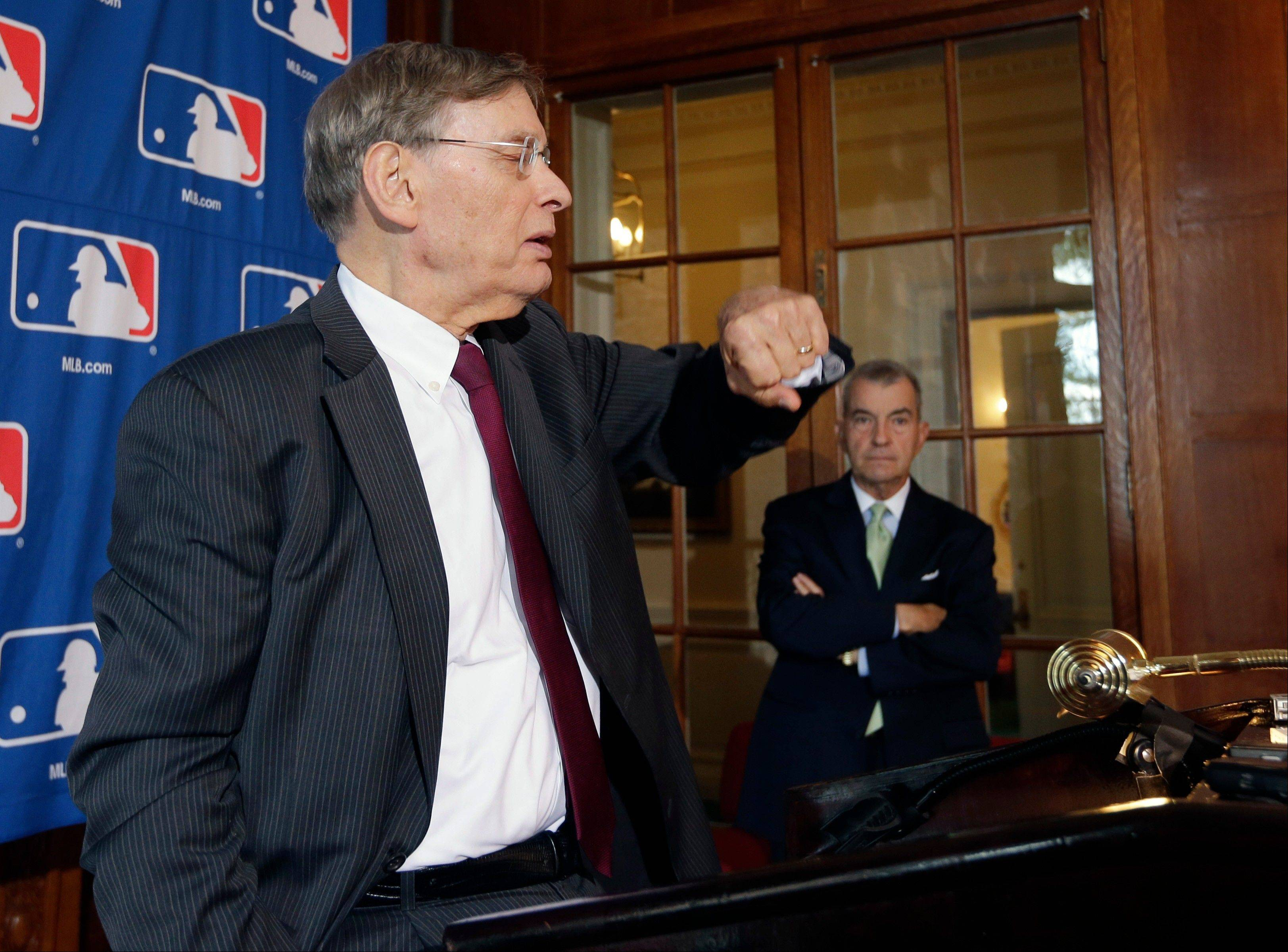 Yes, Commissioner Bud Selig, it is taking longer and longer to play major-league games.