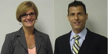 Joelyn Kott and David Weisz are The DuPage Community Foundation's newest additions to its staff.  Both began employment with The Foundation on August 14 as its marketing & communications officer and director of finance, respectively.