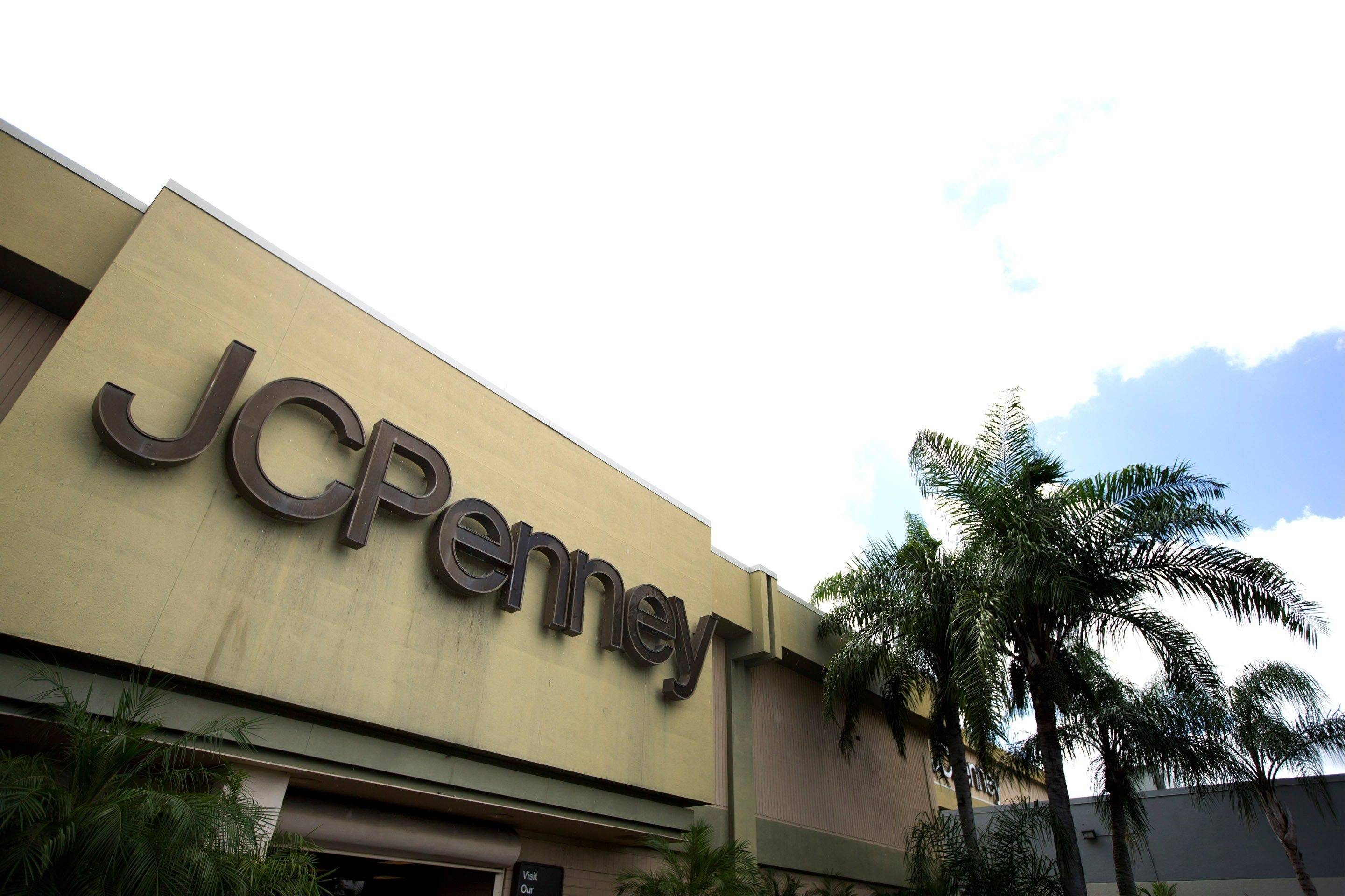 This Monday, Aug. 19, 2013 photo shows the entrance to a J.C. Penney store at a Hialeah, Fla., shopping mall. On Tuesday, Aug. 20, 2013, J.C. Penney reports quarterly financial results. (AP Photo/J Pat Carter)