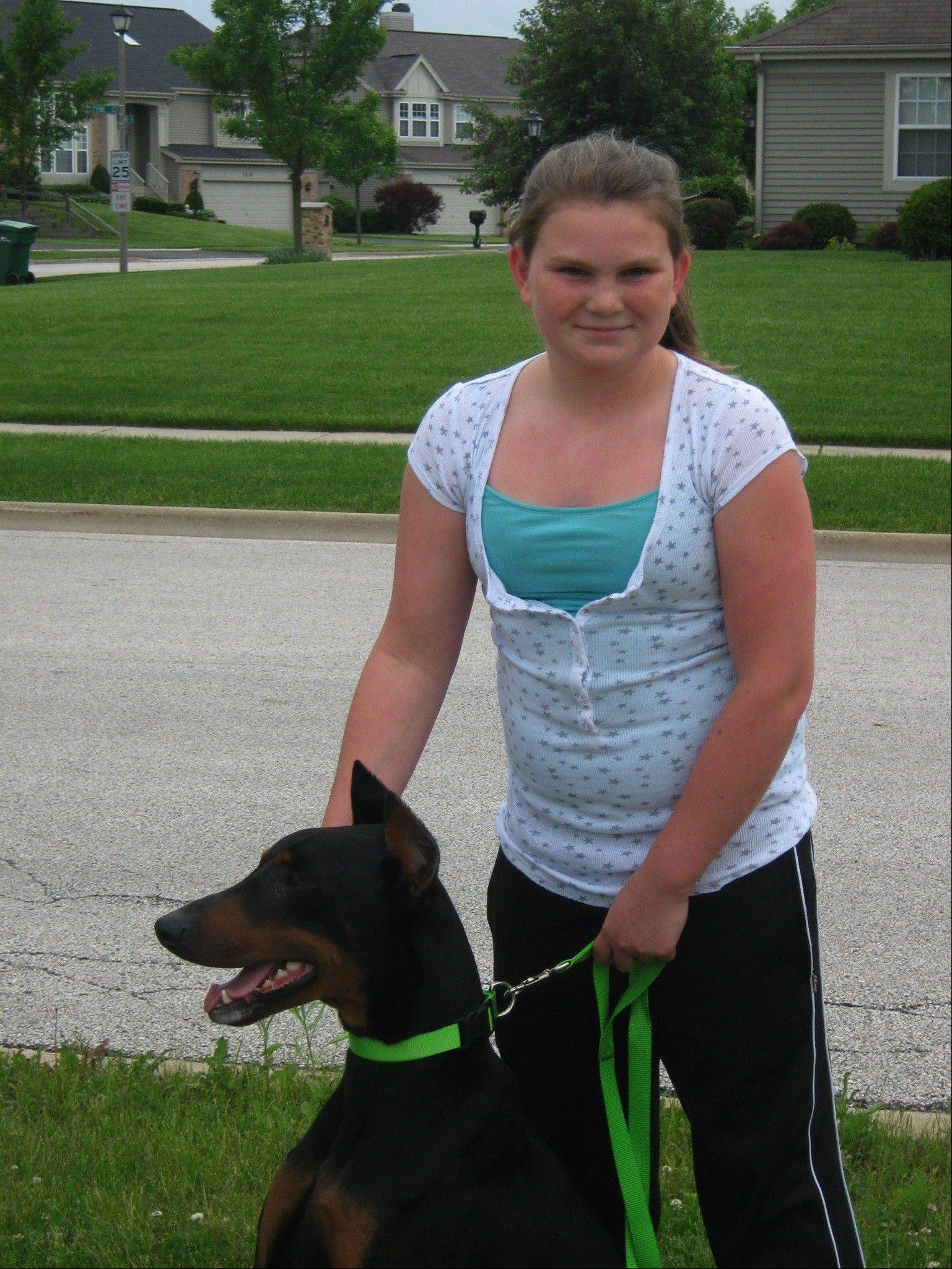 Taylor Mae Stinchcomb and her beloved Doberman, Romulus, died together in a crash in 2011. Her family will remember them Saturday in the second Taylor and Romulus Fun Day in the Park in Gurnee.