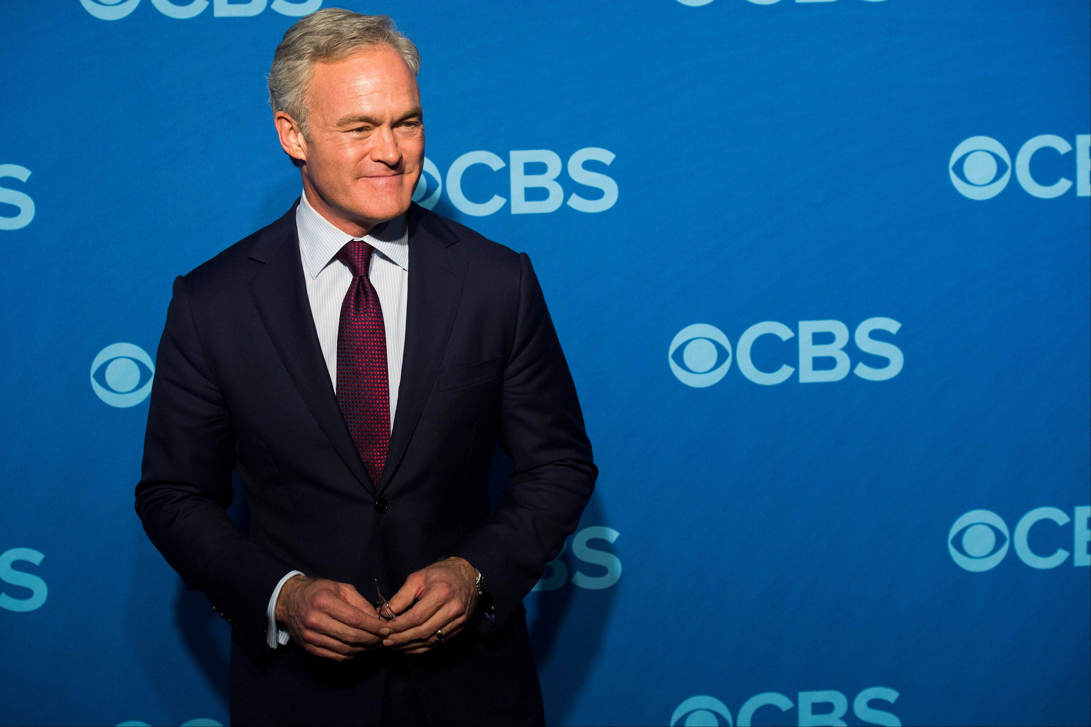 "Scott Pelley anchors the ""CBS Evening News."""
