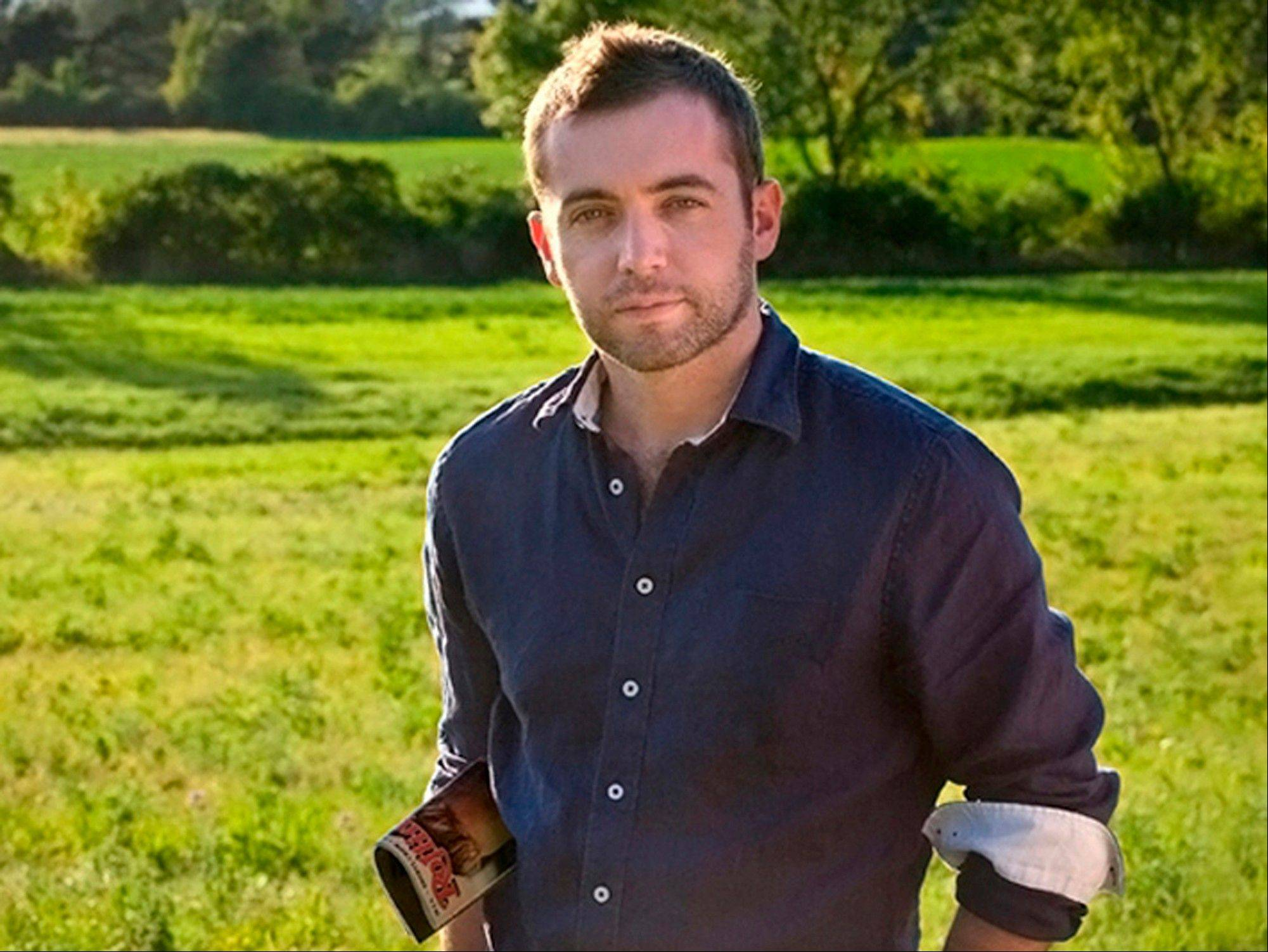 "FILE - This undated file photo provided by Blue Rider Press/Penguin shows award-winning journalist and war correspondent Michael Hastings. A Los Angeles County coroner�s autopsy report released Tuesday, Aug. 20, 2013, says the 33-year-old Hastings died instantly of ""massive blunt force trauma."" The autopsy found traces of amphetamine and marijuana in his body but concluded that it was an unlikely contributor to his death in a fiery single-car crash, June 18 in Los Angeles."