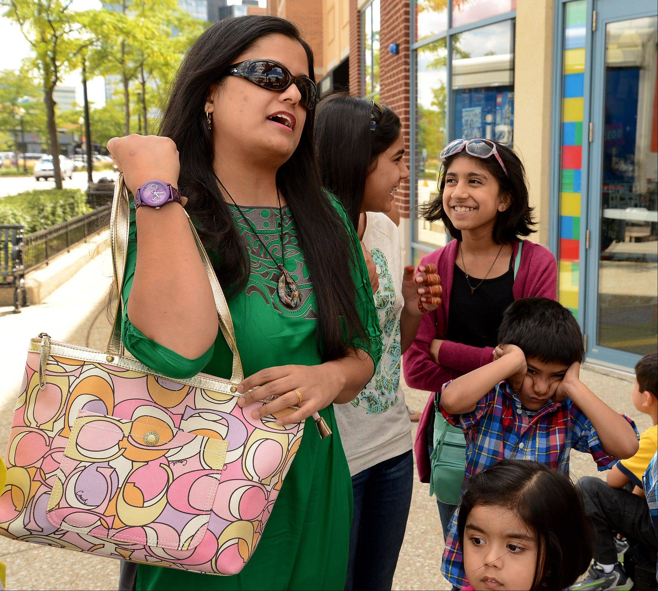 What do you need for school that's not on the supply list? Sunscreen, says Sidra Khan, of Glendale Heights.