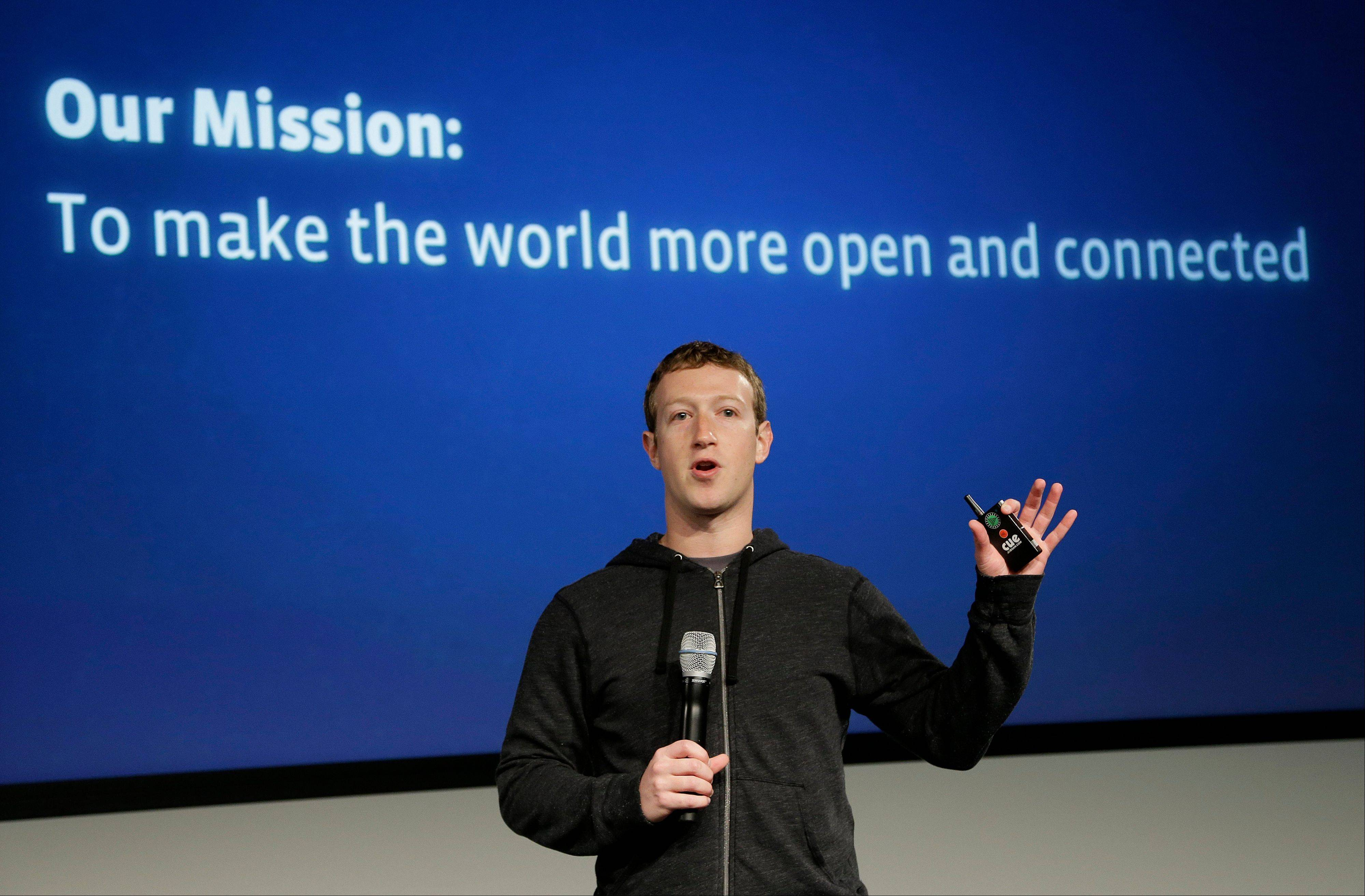 Facebook CEO Mark Zuckerberg wants to get more of the world's more than 7 billion people online through a partnership with some of the world's largest mobile technology companies. Facebook Inc. announced a partnership called Internet.org on Wednesday.