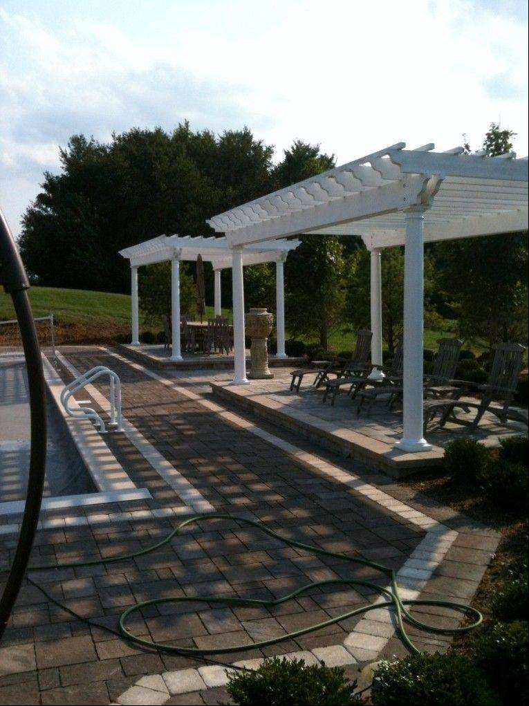 Homeowners who want to add shaded seating areas to their yards are opting for pergolas.
