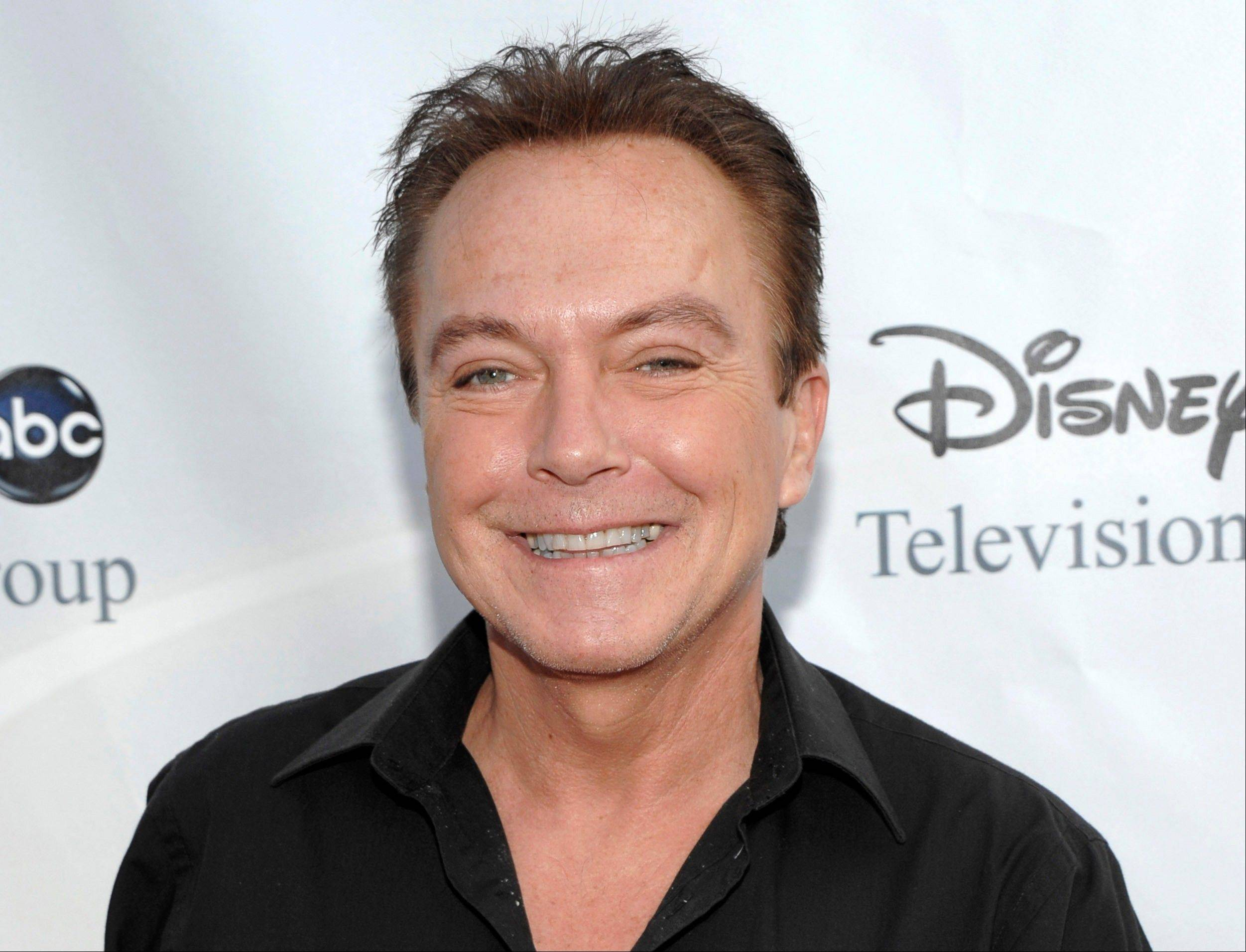 David Cassidy is free on $2,500 bail after being charged with felony driving while intoxicated in upstate New York.