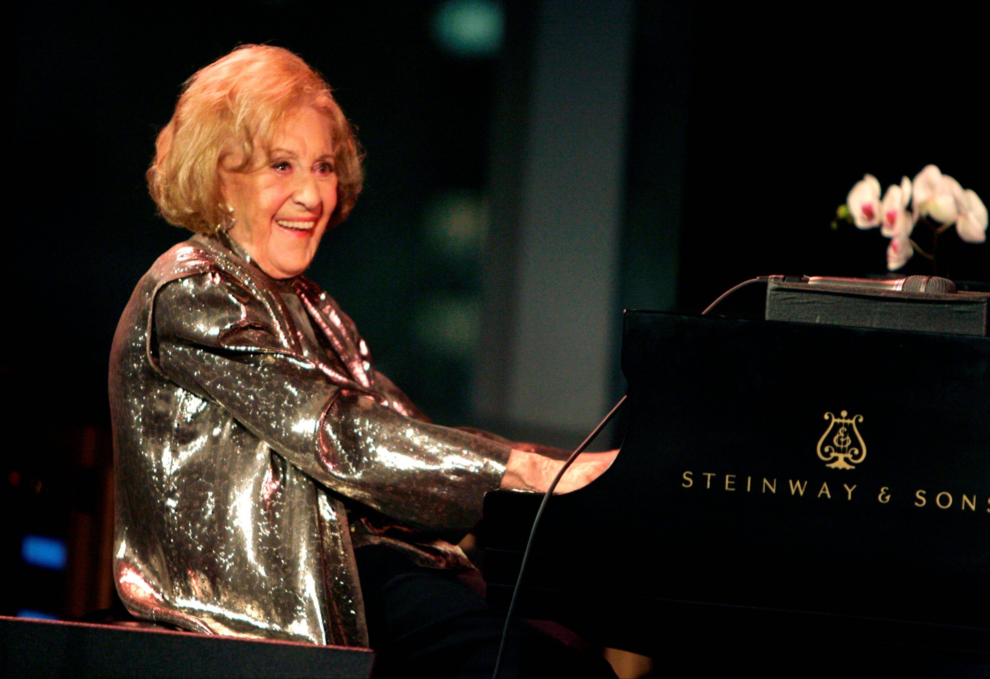 "Marian McPartland, legendary jazz pianist and host of the National Public Radio show ""Piano Jazz,"" died of natural causes Tuesday at her Port Washington home on Long Island."