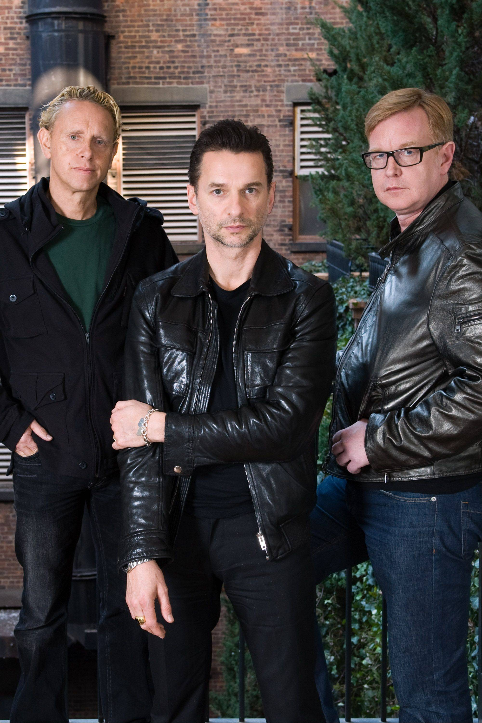 See Depeche Mode at the First Midwest Bank Amphitheatre in Tinley Park.