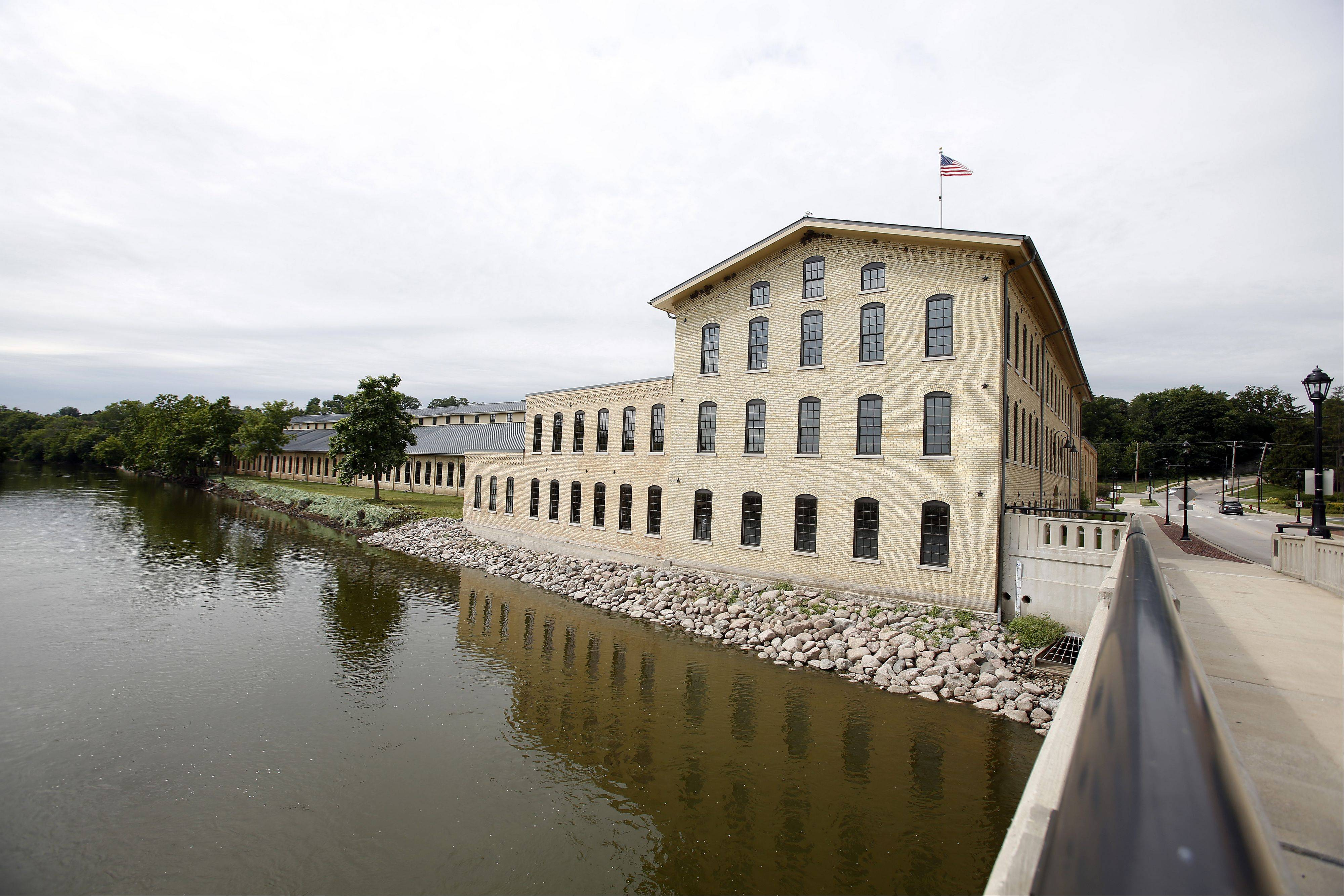 Otto Engineering in Carpentersville spent millions of dollars renovating its buildings and beautifying its part of the Fox River, a move Carpentersville officials say has inspired them to improve other parts of the river.