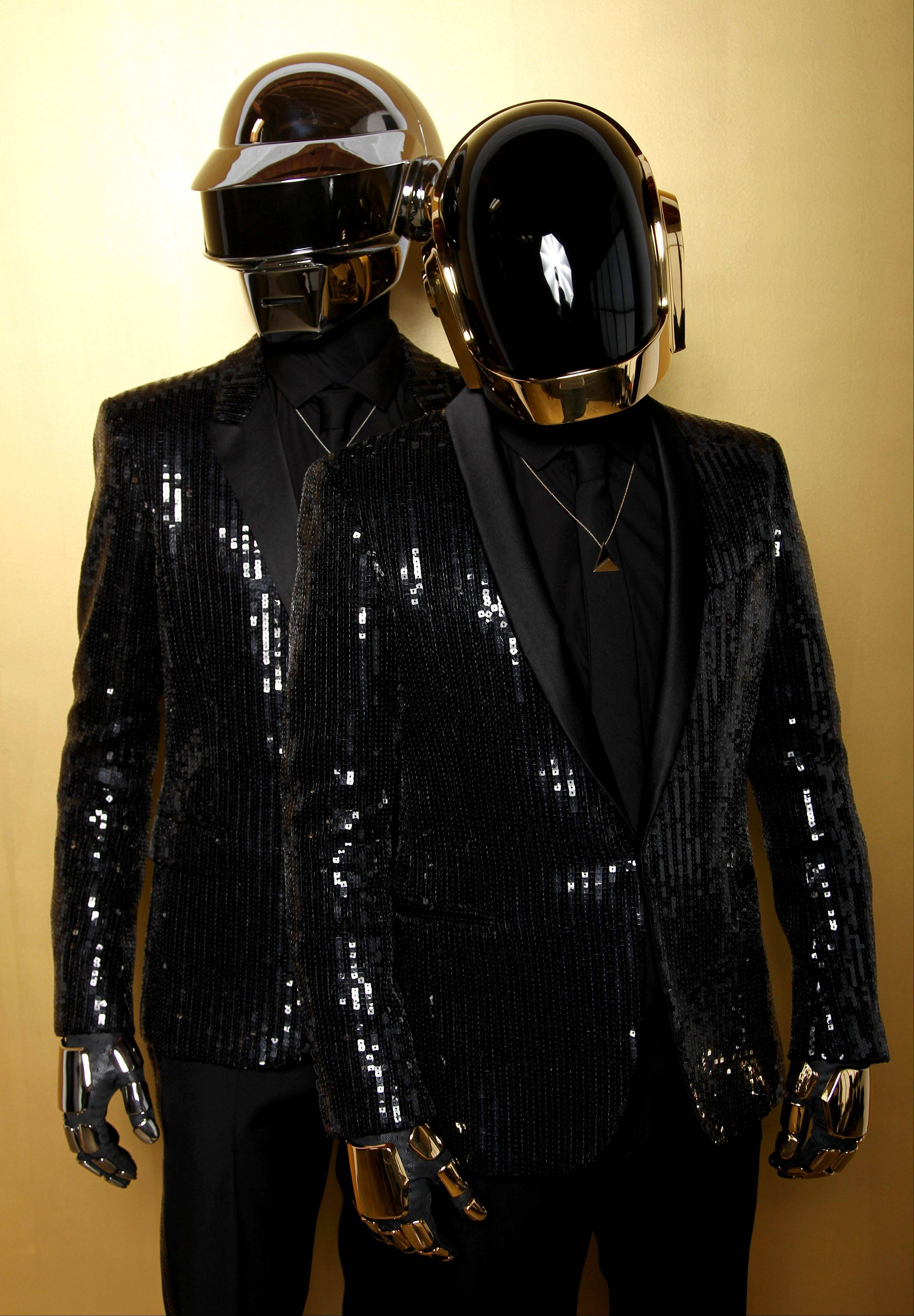 Underneath those helmets are Thomas Bangalter, left, and Guy-Manuel de Homem-Christo, better known as Daft Punk.