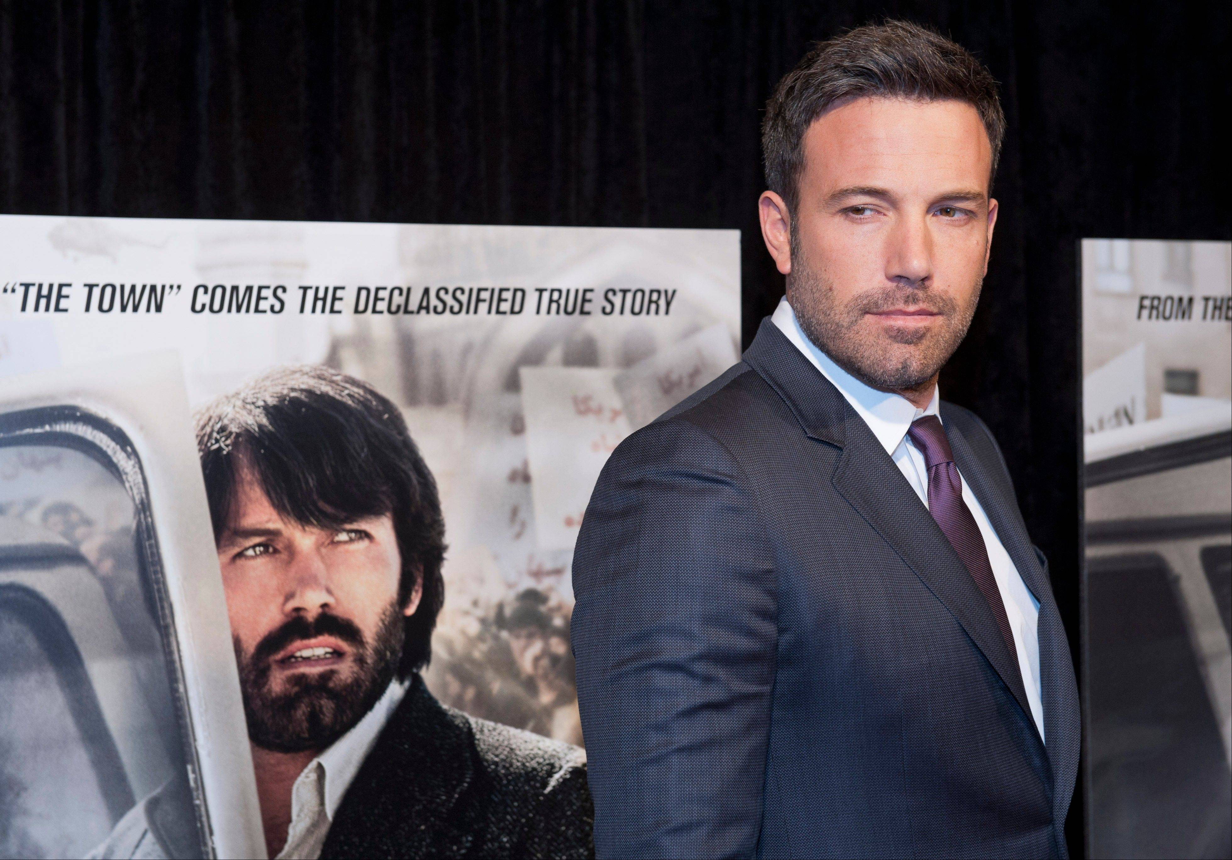 "Ben Affleck, who won the Academy Award earlier this year for best picture as producer of ""Argo,"" will play Batman in a film that pairs him with Henry Cavill's Superman."