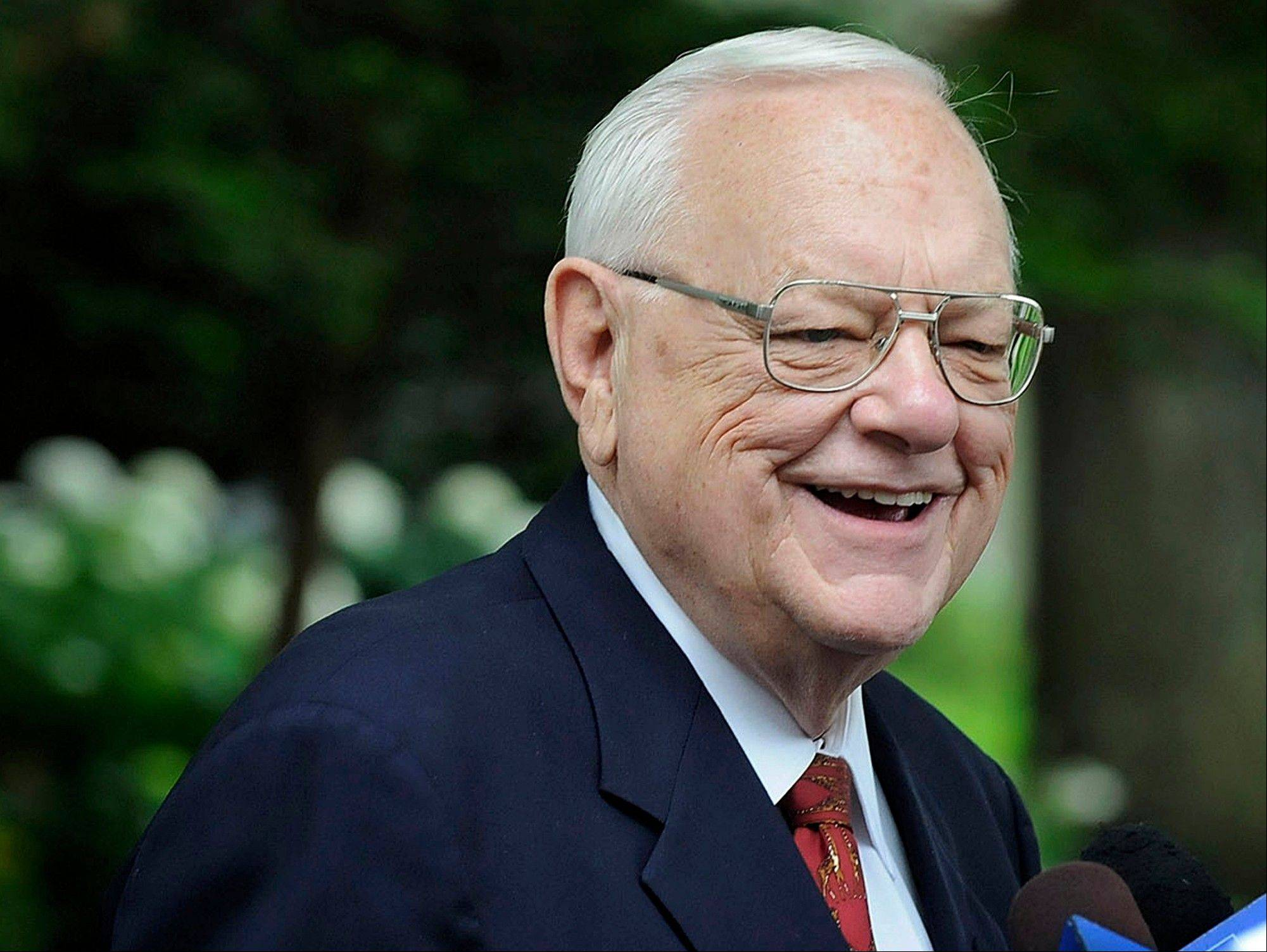 Former Gov. George Ryan is working on a memoir as he adjusts to private life.