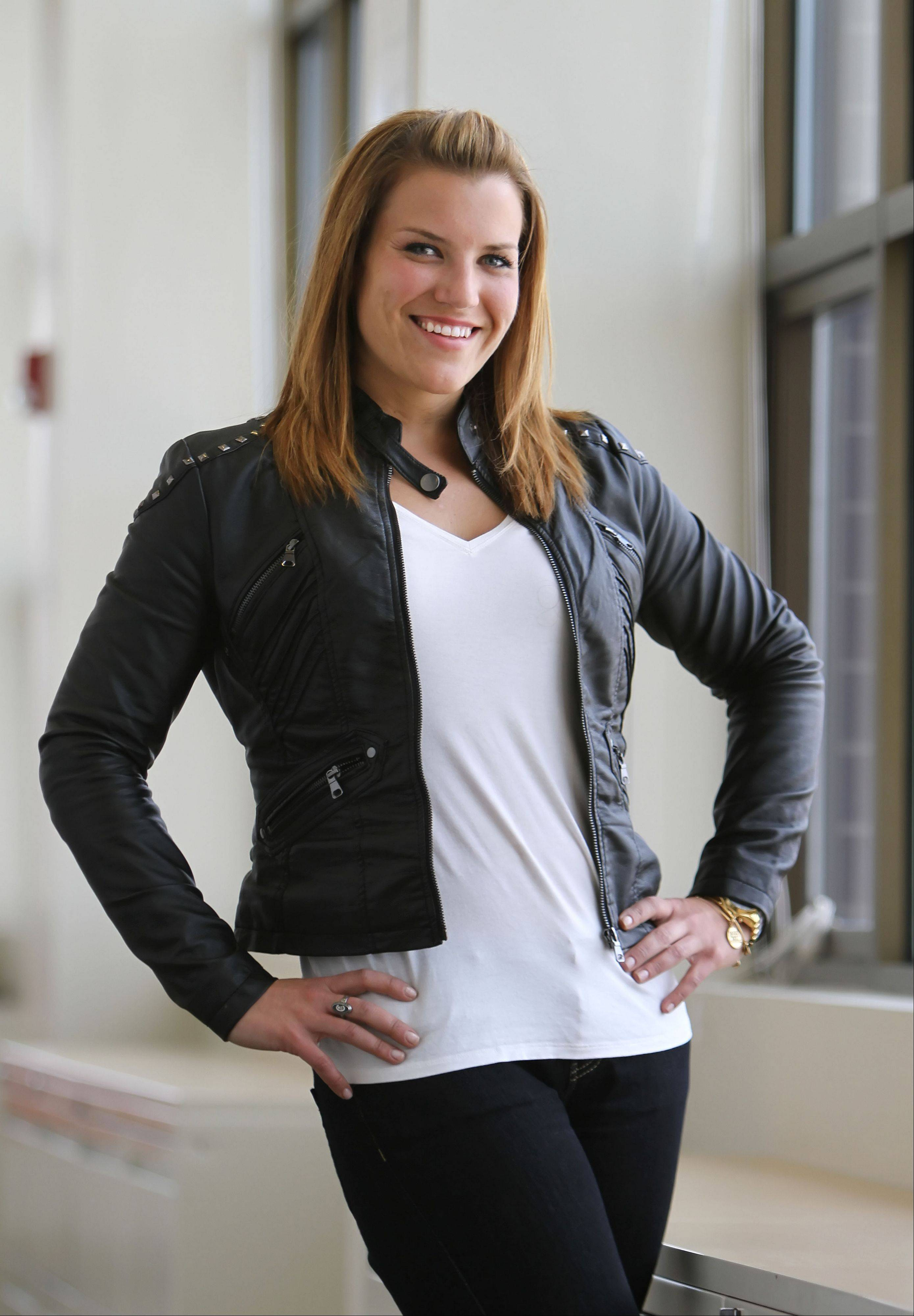 "Nearly six months after winning the NBC reality show ""The Biggest Loser,"" Wheeling's Danni Allen is still traveling the country and rubbing elbows with celebrities. But she says she's more focused on upcoming athletic challenges, including her first triathlon this weekend and her first marathon in October."