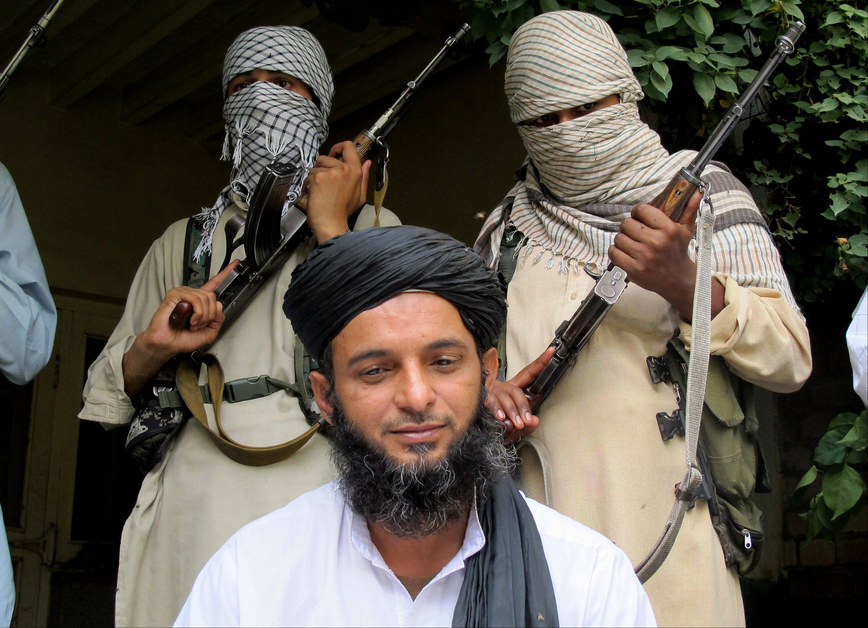 Asmatullah Muawiya, head of the Taliban's faction of fighters from central Punjab province, welcomed the government's recent offer to hold peace talks Thursday, raising the possibility the militant group has changed its stance after shunning negotiations earlier this year.