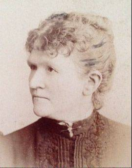 Jeannette Simpson earned $18 a month as a teacher in 1864 in Rondout District 72.