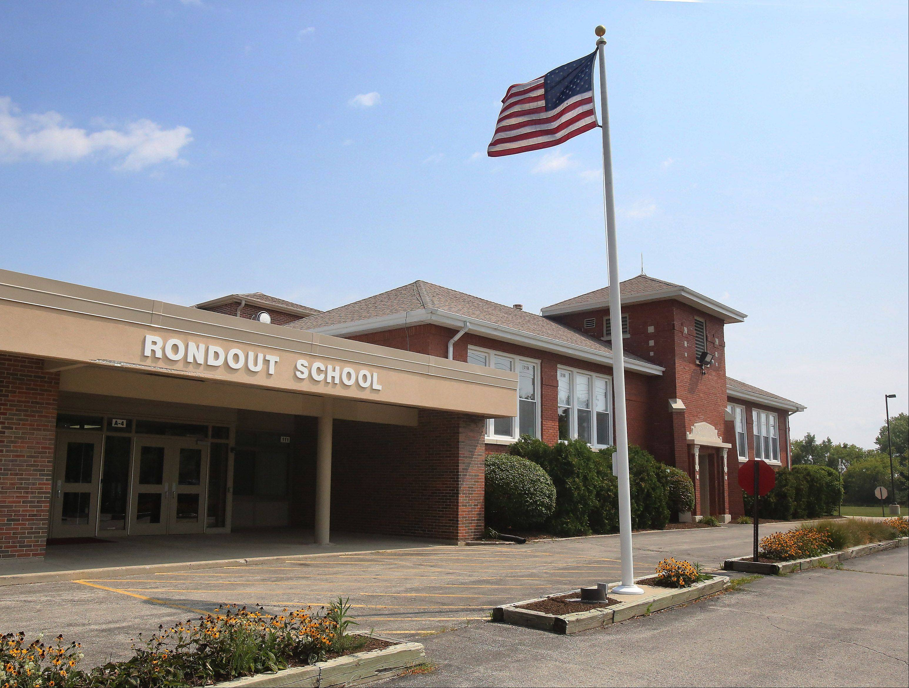 Rondout School in 2013. Additions were built in 1973, 1999 and 2009, but the original section, a one-room school built in 1917, is still used daily.