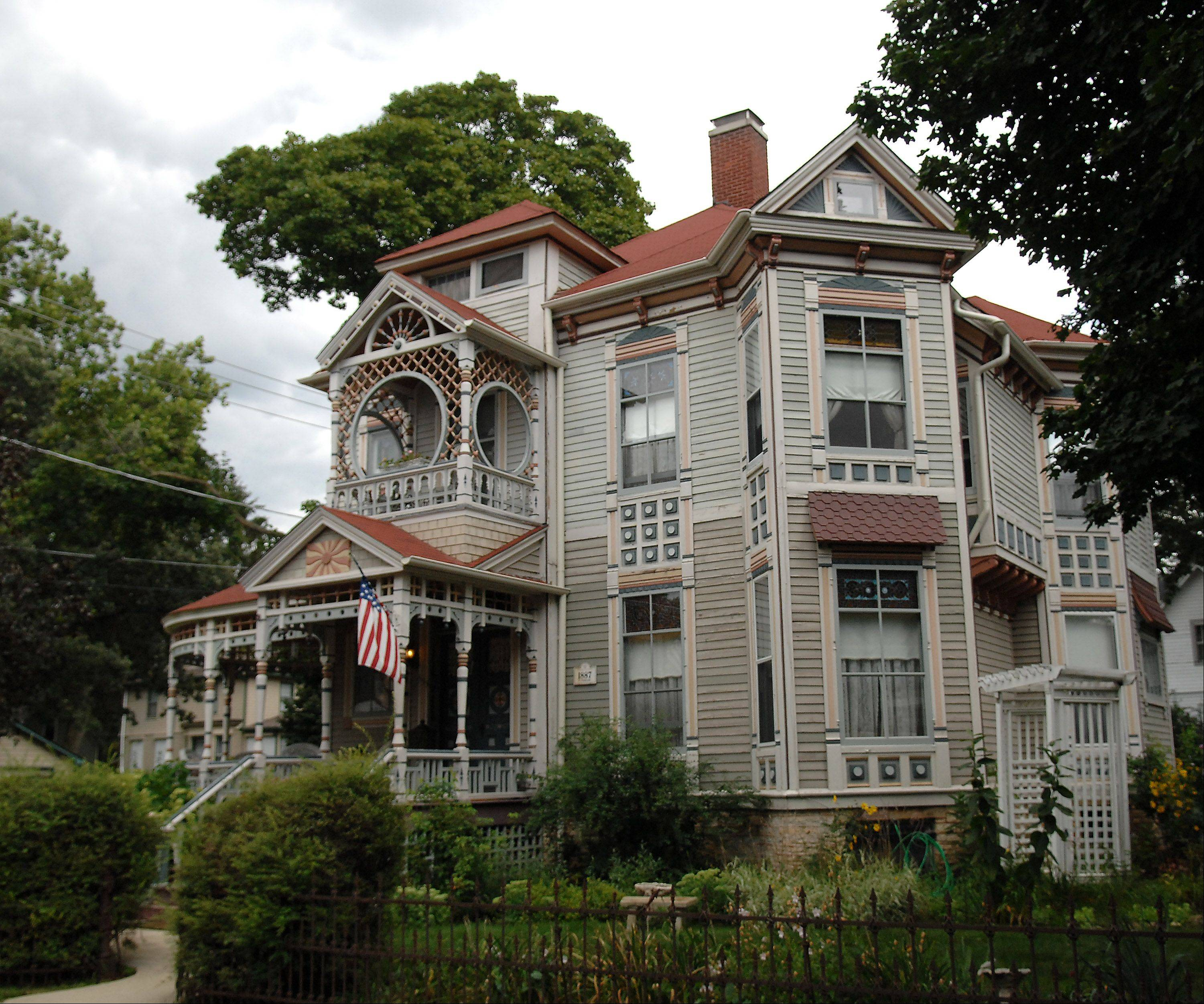 Twelve requests for historic architectural rehabilitation grant were approved recently by the Elgin City Council's committee of the whole, including one for a home owned by Steve Stroud at 653 Douglas Ave.