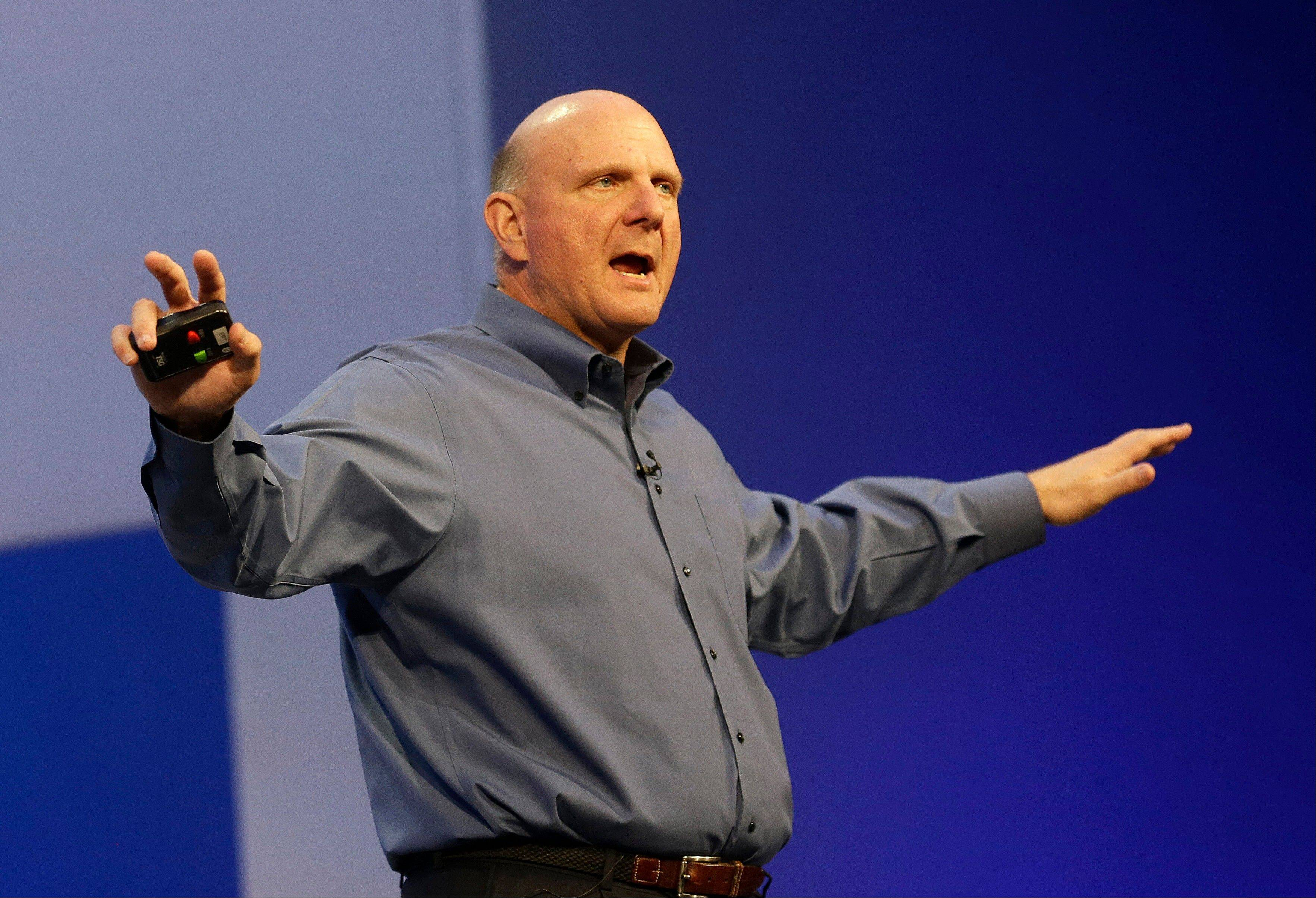 Microsoft CEO Steve Ballmer, who helped build Microsoft into a technology empire and then struggled to prevent it from crumbling under his own leadership, will retire within the next 12 months. The world�s biggest software company did not name a successor. Microsoft Corp.�s stock shot up 9 percent in premarket trading following the news.