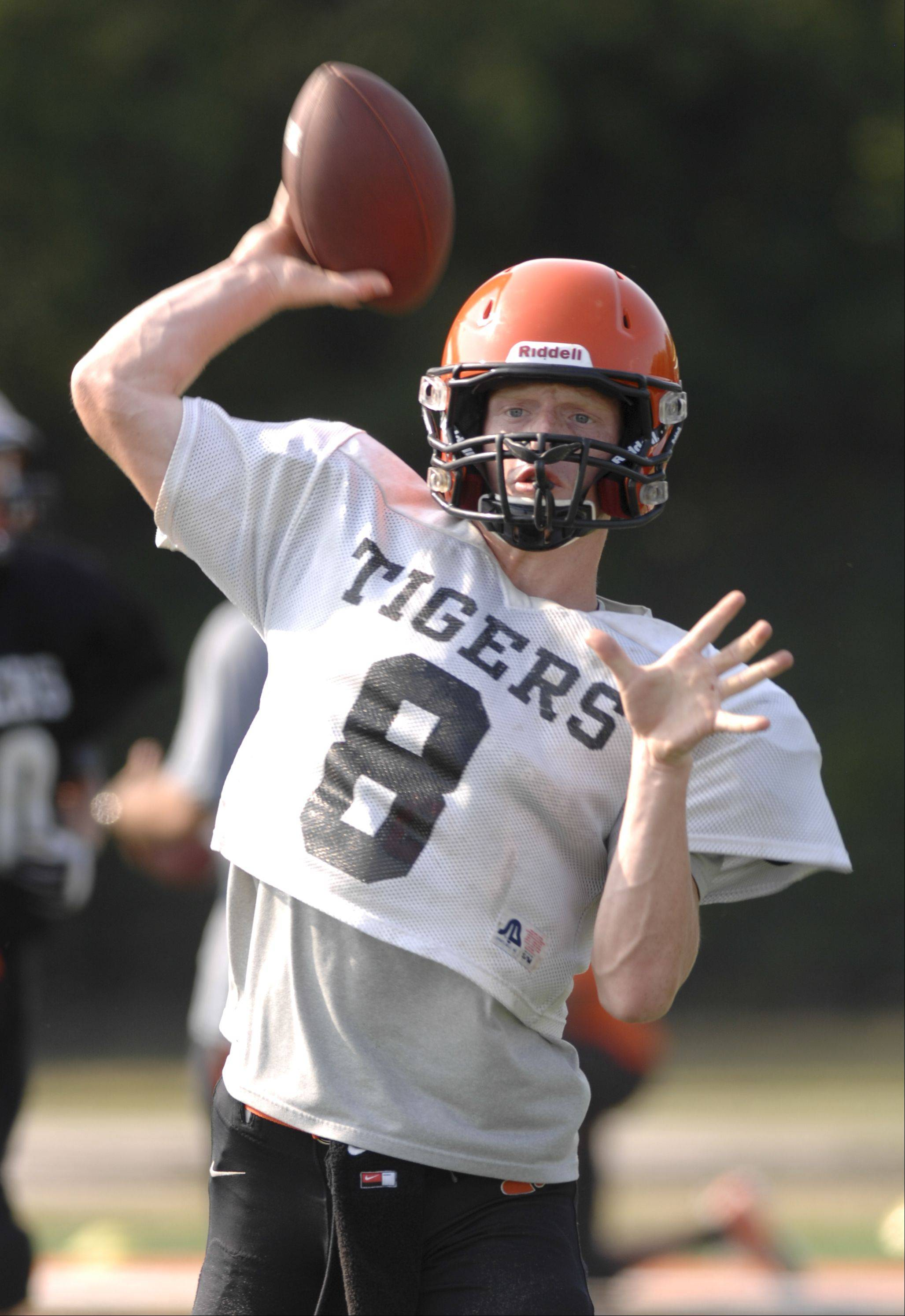 Wheaton Warrenville South quarterback Ryan Graham.