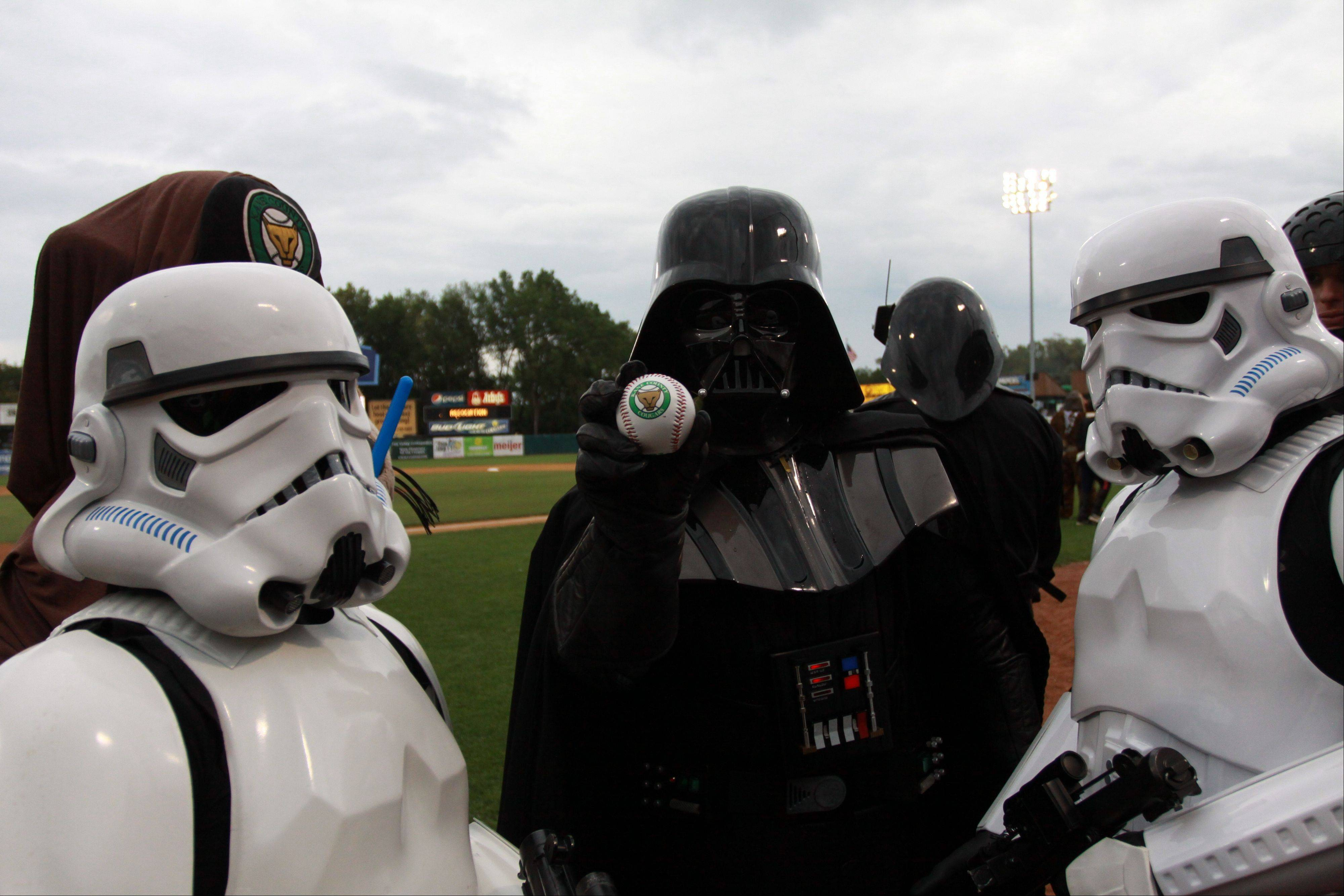 The Kane County Cougars host Star Wars night Saturday, Aug. 31, in Geneva.