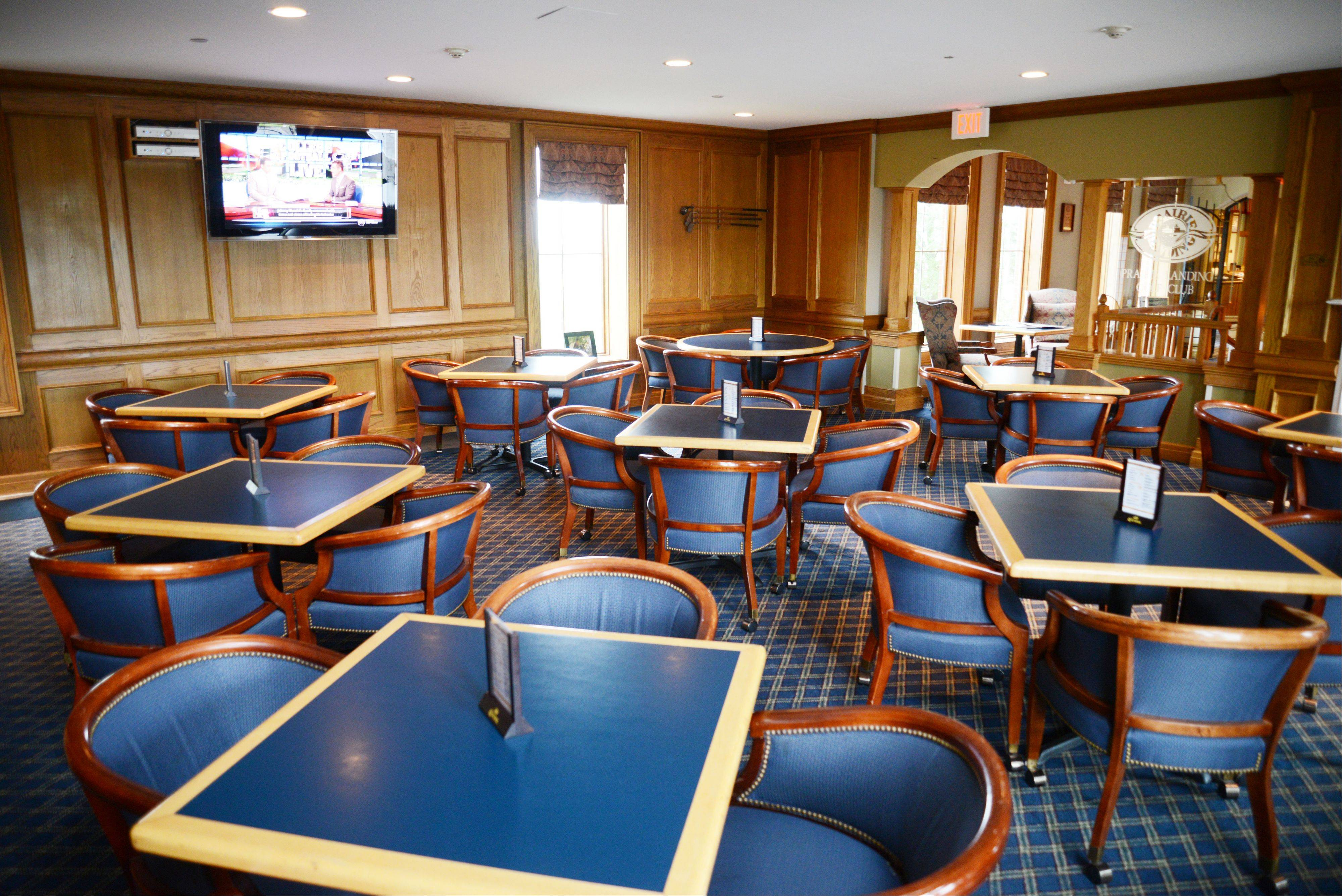 The Prairie Landing Golf Club in West Chicago offers a wide variety of food.