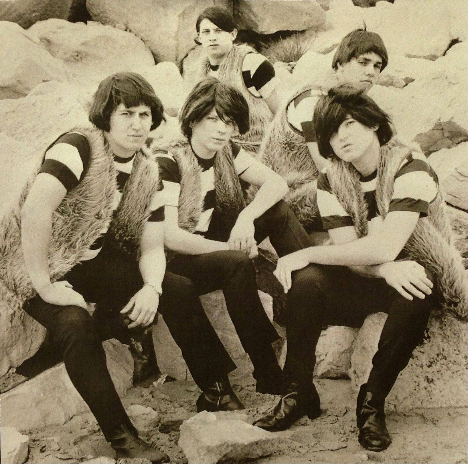 Gary Goldberg, far left, appears in a late 1960s publicity photo with the Cave Dwellers.