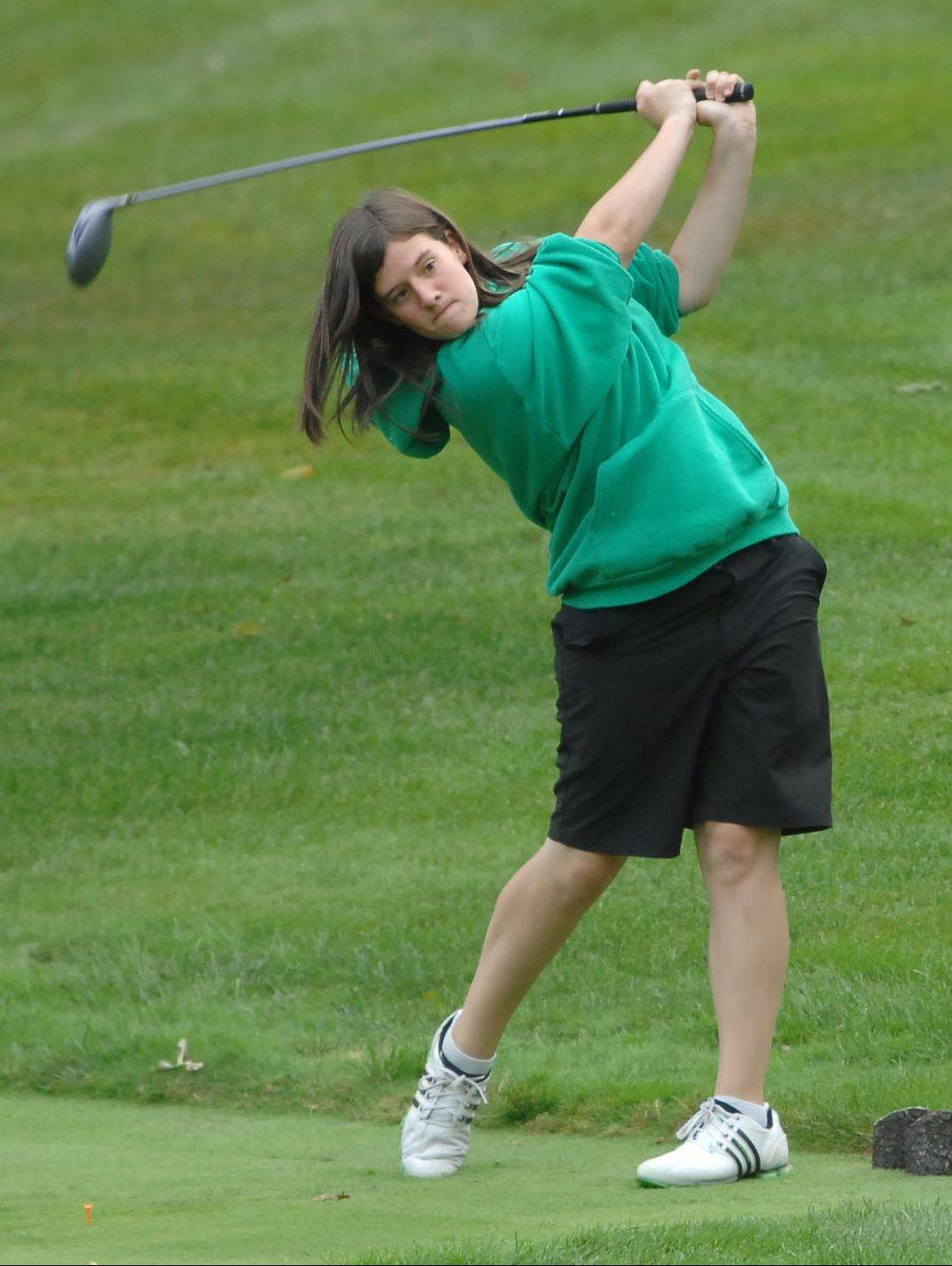 St. Edward junior Ryann Scully is a returning sectional qualifier who just missed making state last year.