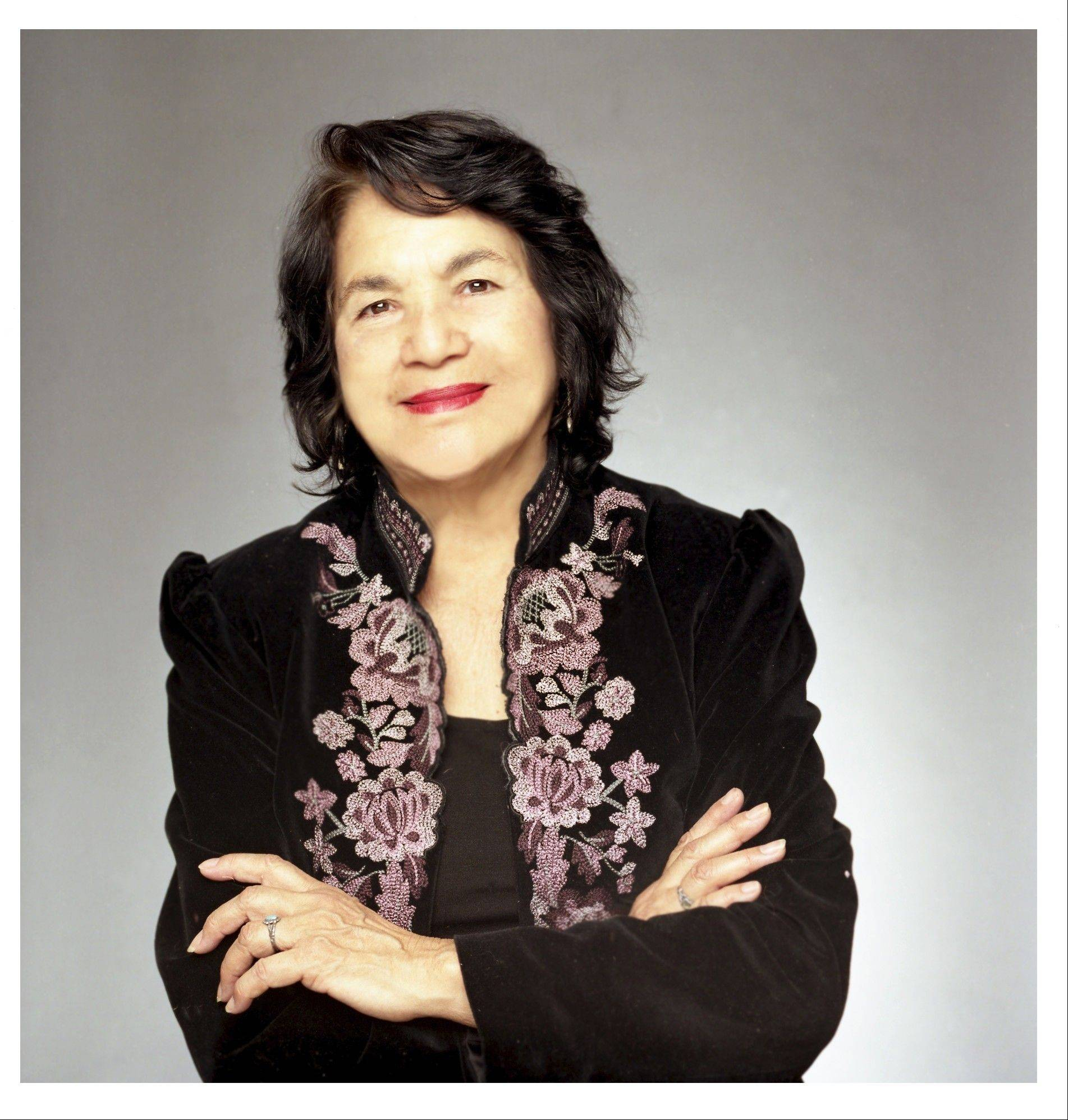 On Sept. 12, civil rights activist Delores Huerta will kick off activities for Elgin Community College's celebration of Latino Heritage Month.