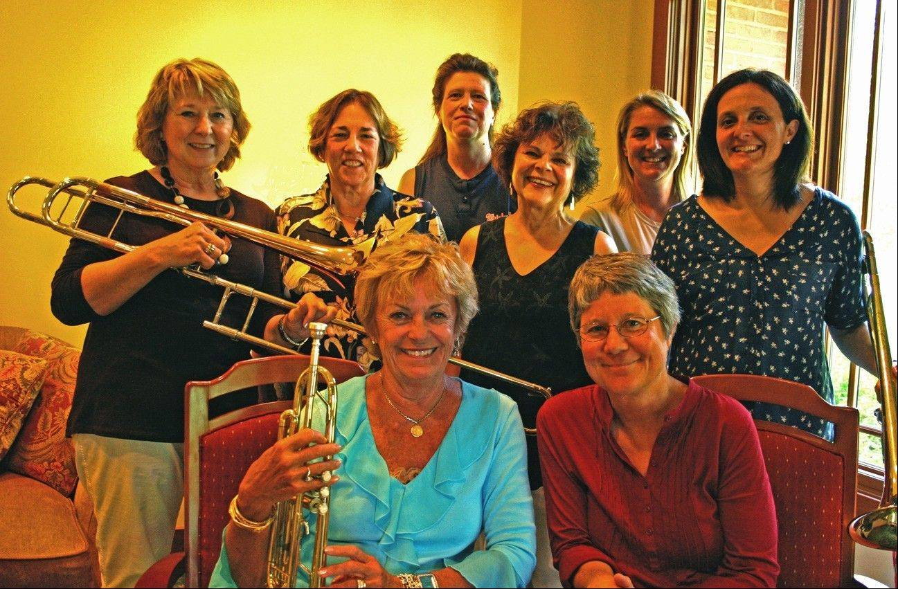 "Committee members organizing BACOA's 2013 ""Aged to Perfection"" include, from left: Front: Meg Peirce and Joyce Palmquist; back: Judi Musschoot, Jody Paine, Mary Pahlke, Sandy Stevens, Julie Joyce and Annette Baird. The event will be Friday, Sept. 6, at Makray Memorial Golf Club in Barrington."