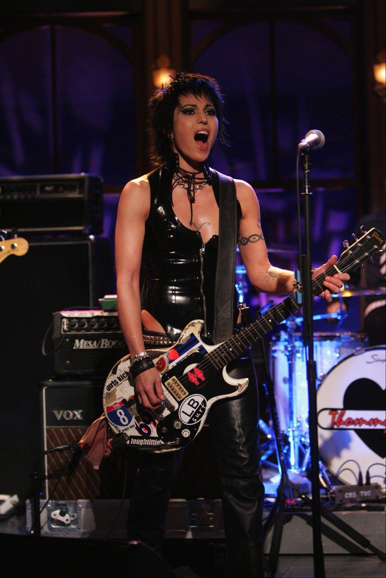 Joan Jett and The Blackhearts will perform at Festival Park in Elgin.