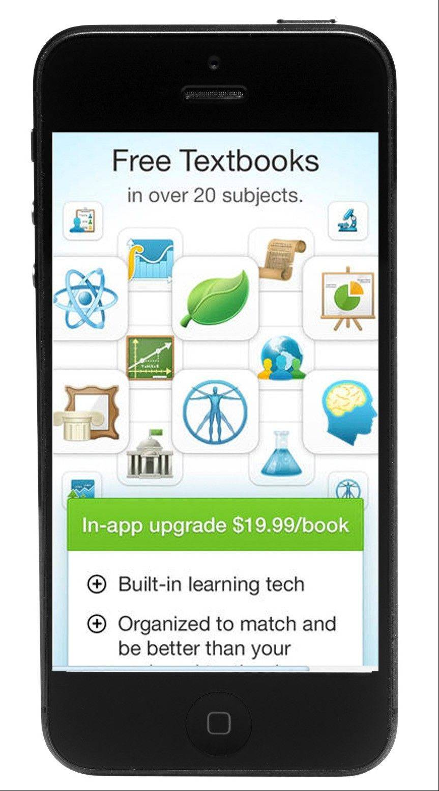 The Boundless app has set out to offer students low-cost alternatives to their traditional textbooks by collecting information and curating it into free or low-cost books.