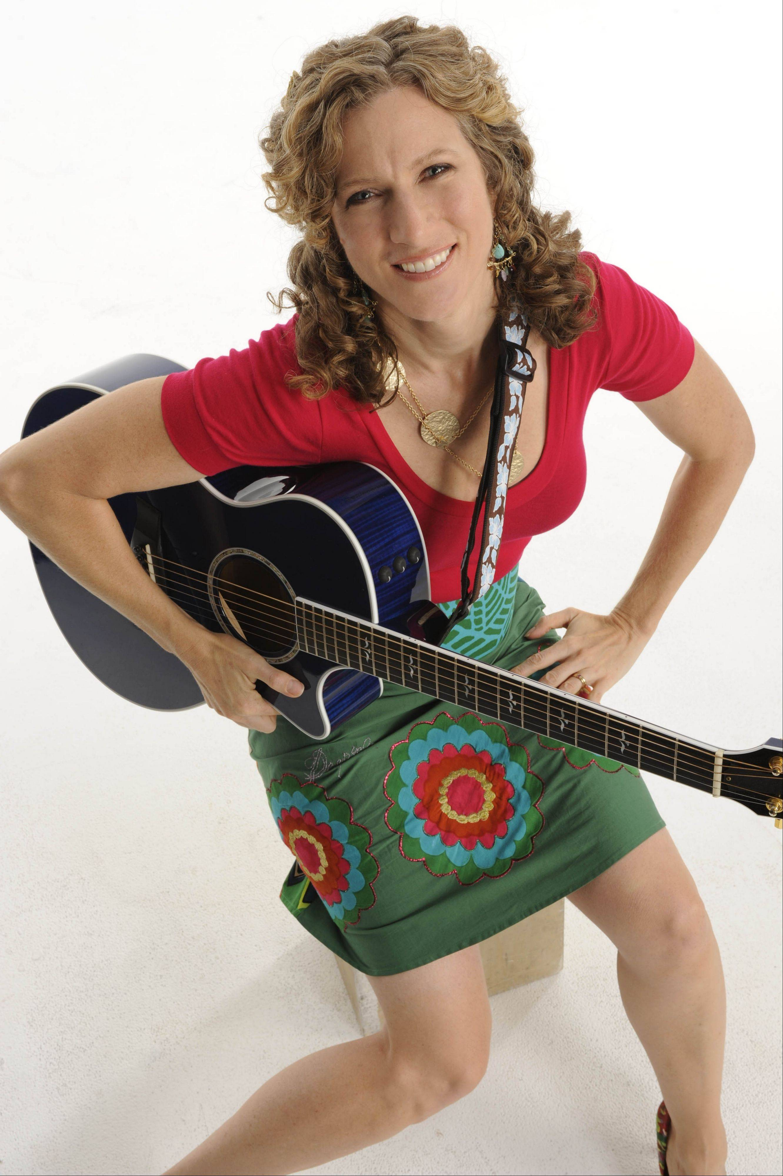 Best-selling children's recording artist Laurie Berkner is set to headline Ravinia on Sunday.