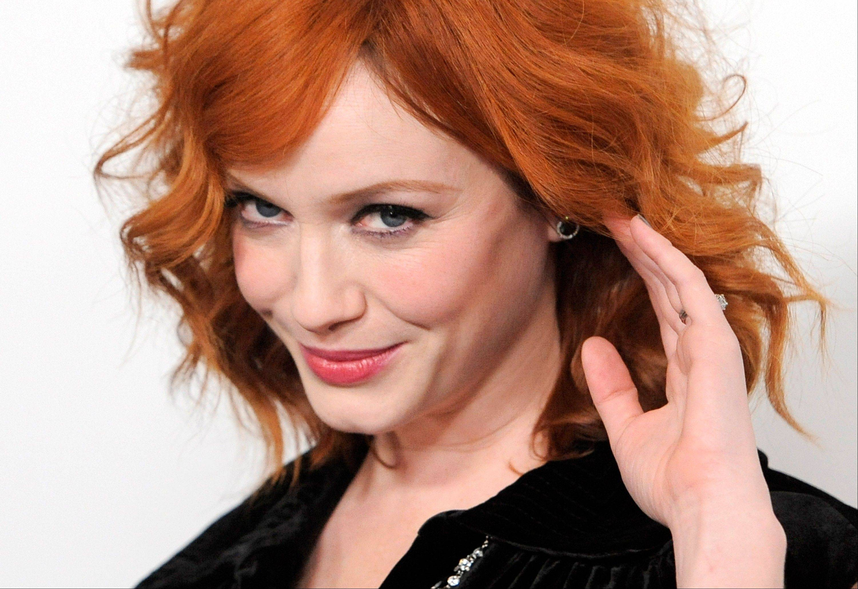 """Mad Men"" cast member Christina Hendricks says she's feeling weepy as ""Mad Men"" approaches its seventh and final season."
