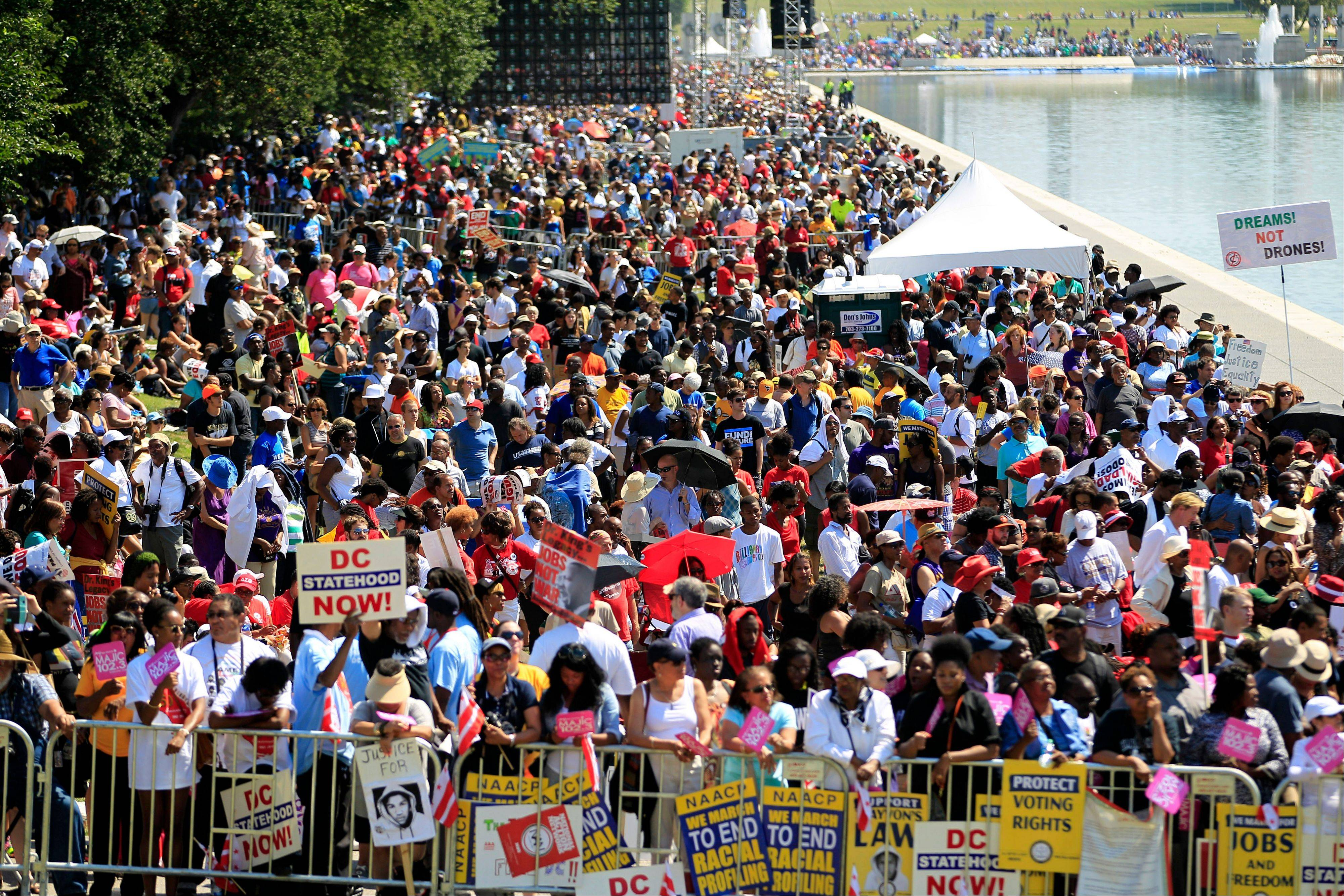 50th anniversary march on washington speakers
