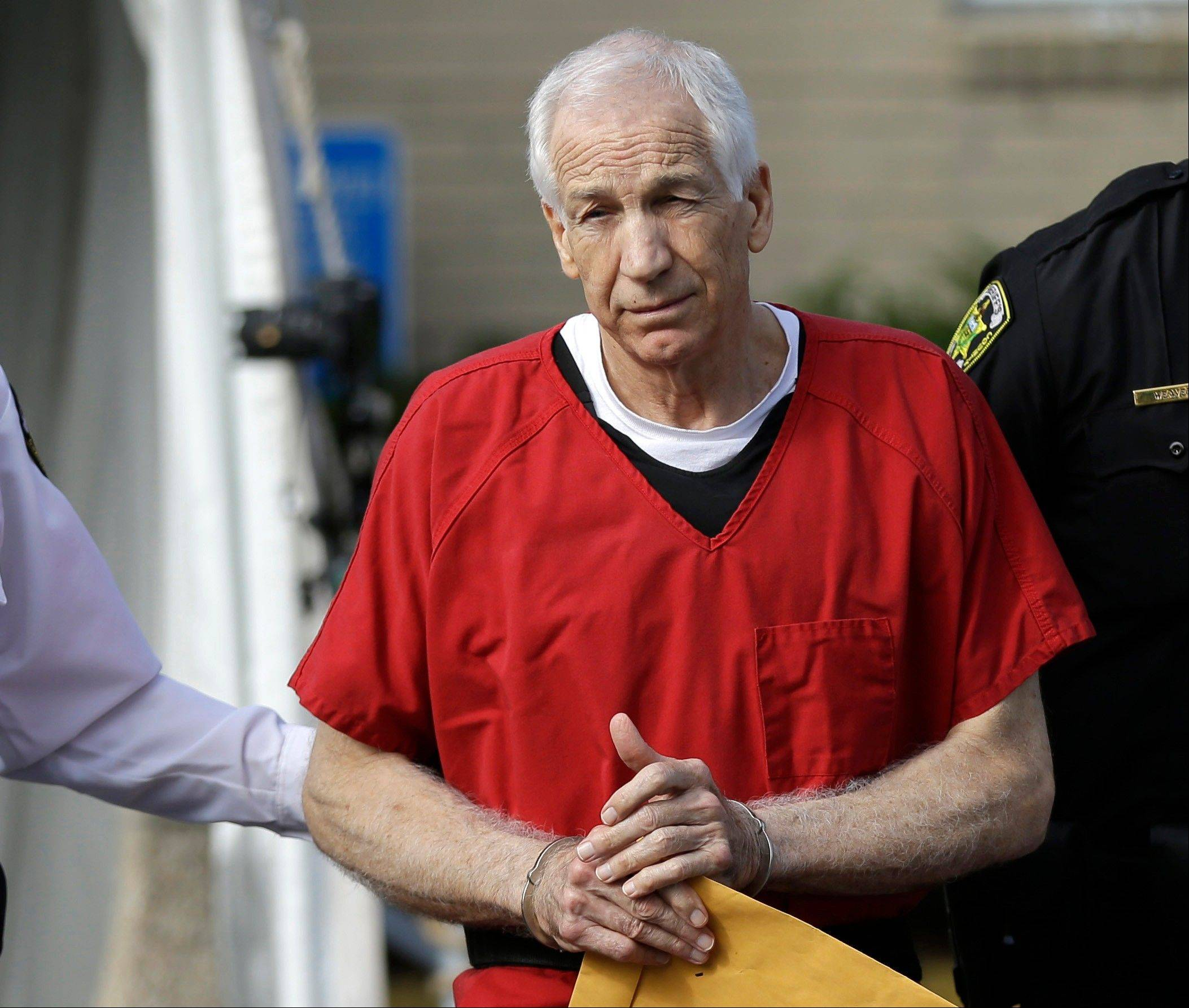 Former Penn State University assistant football coach Jerry Sandusky was convicted of 45 counts of child sexual abuse and is serving a decades-long prison sentence.