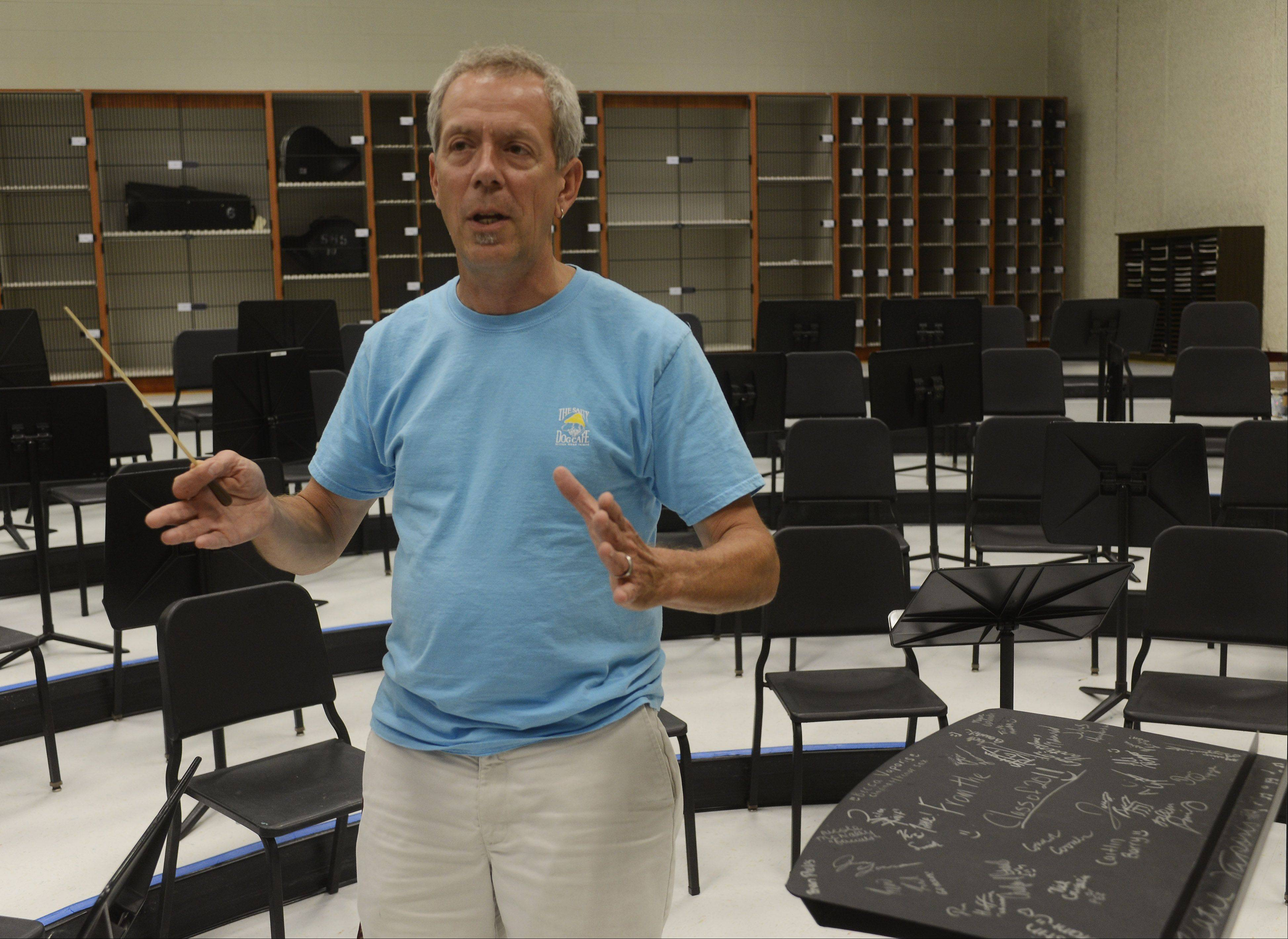 Kevin Miller, music department chair at Schaumburg High School, is retiring at the end of the upcoming school year.