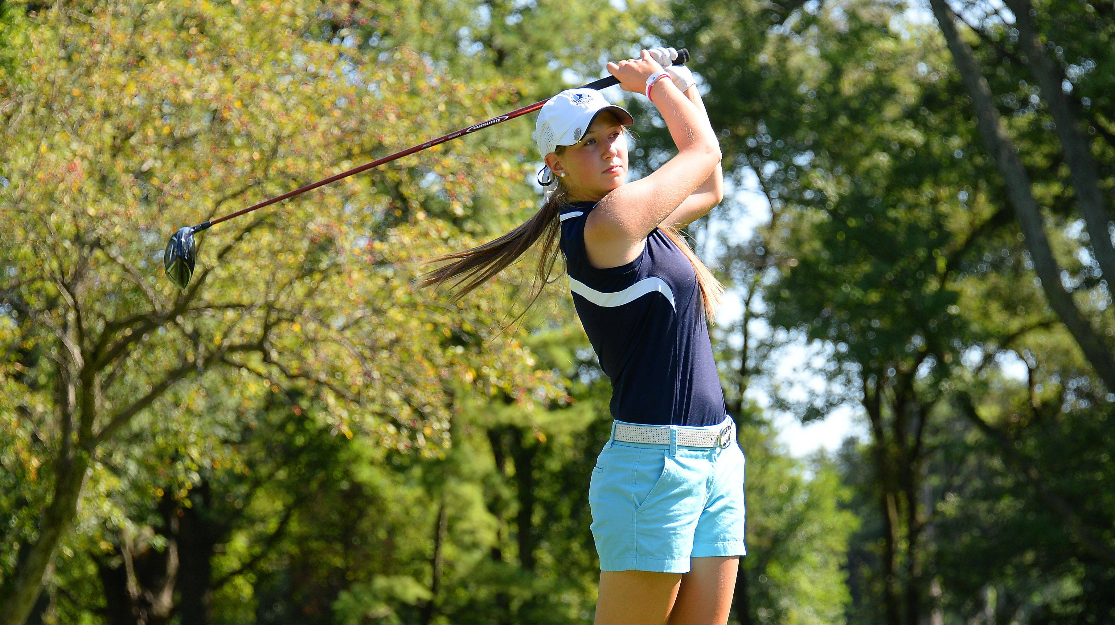 Kiley Walsh is following a proud tradition of girls golf excellence at Prospect.