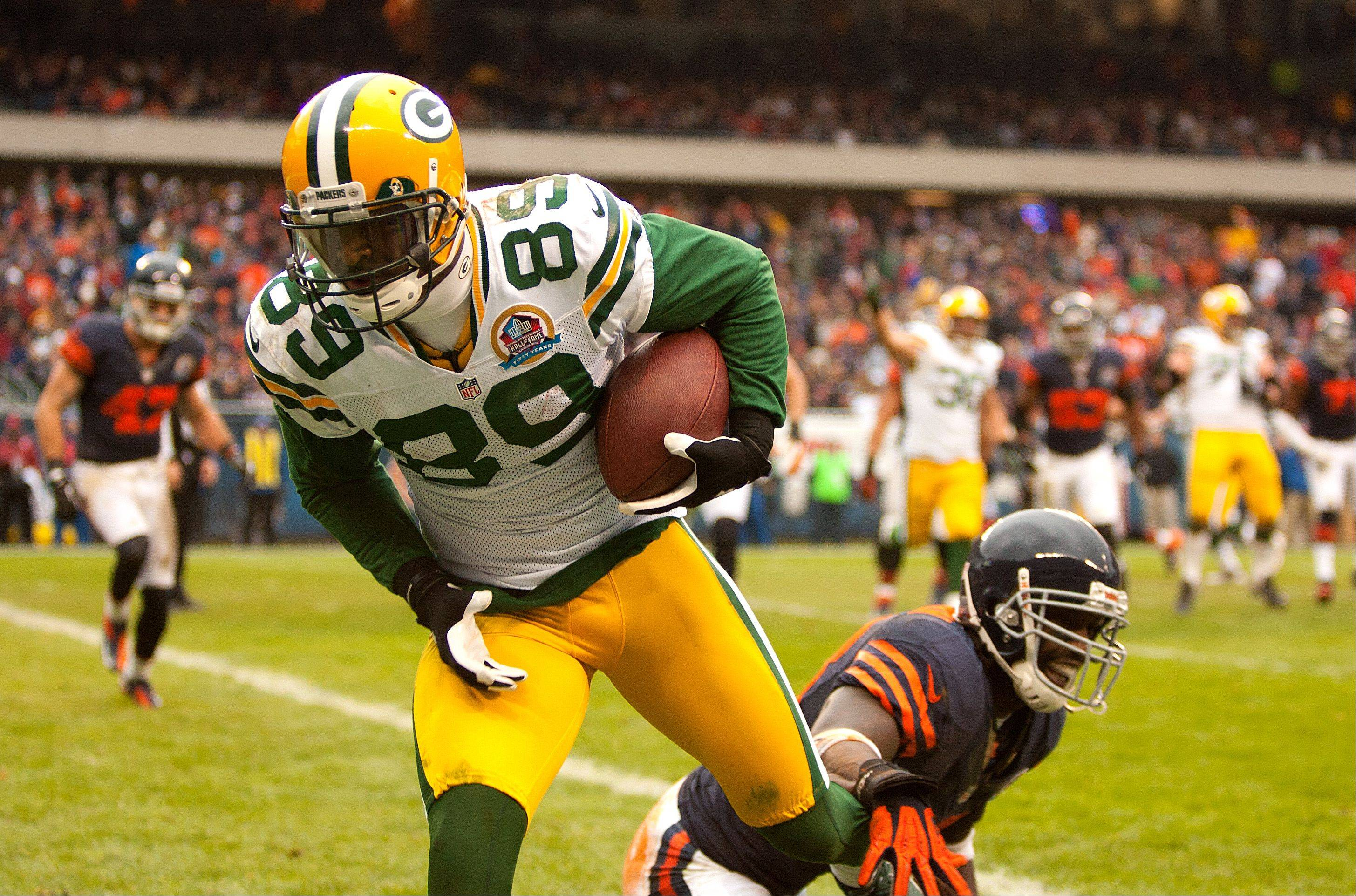 James Jones hauled in a whopping 14 TD passes last season from QB Aaron Rodgers.