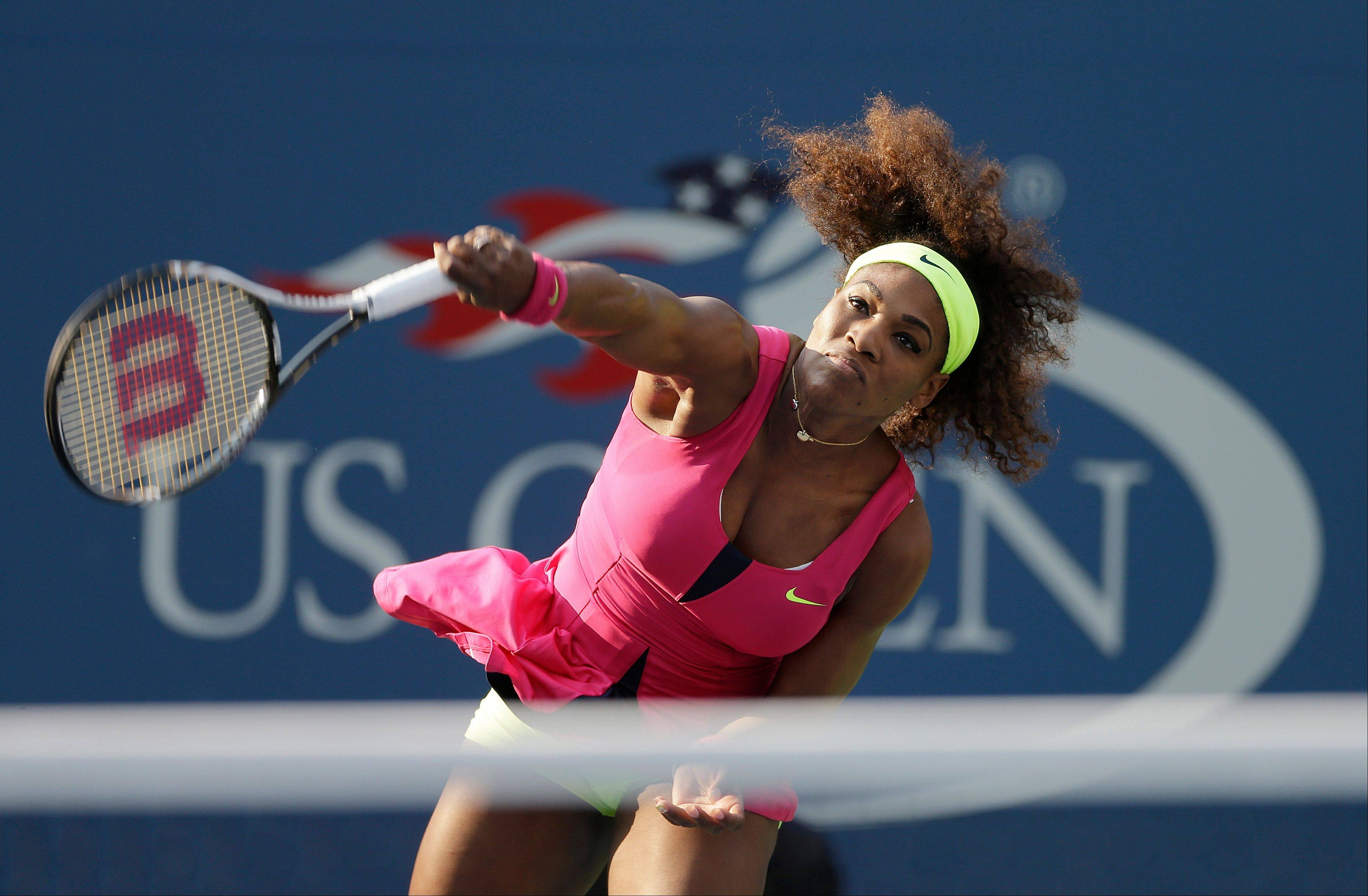 Serena Williams, defending U.S. Open champion, is seeded No. 1 in this year's tournament.