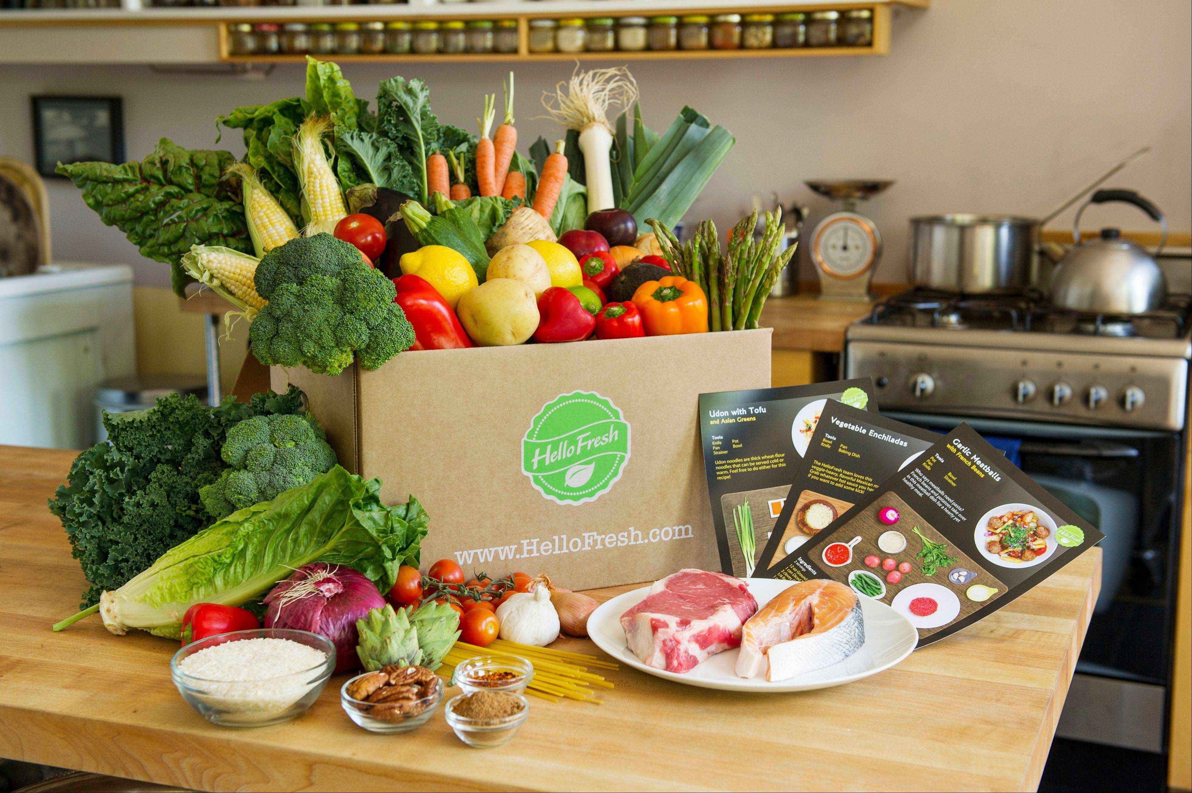 HelloFresh, based in New York, ships ready-to-cook dinner kits to subscribers with everything needed to whip up a meal, from the raw meat and fish to vegetables and spices. Targeting busy consumers, Blue Apron and fellow startups HelloFresh and Plated are trying to make cooking at home easier and cheaper than dining out or ordering in.