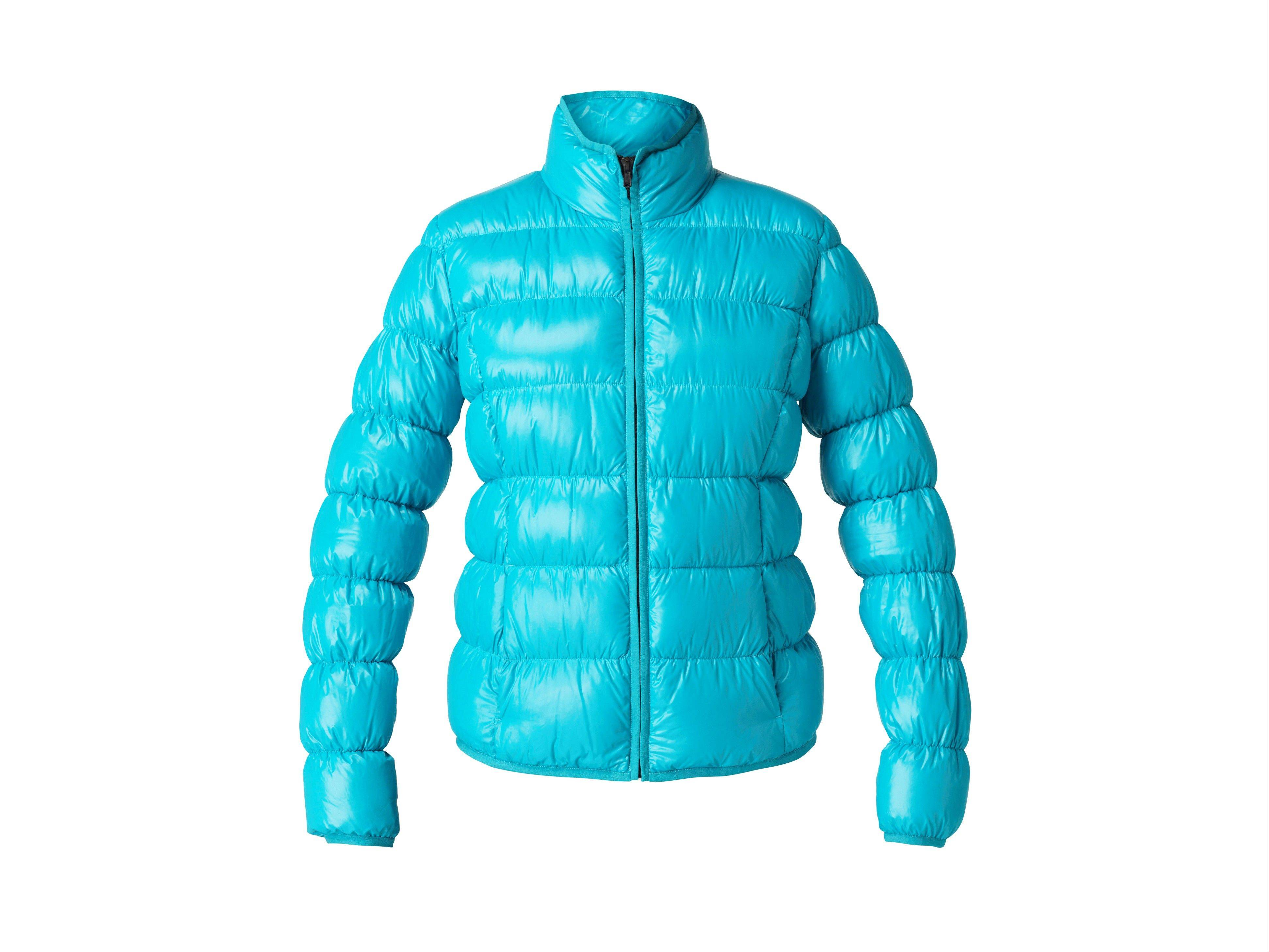 Participation in mud runs and obstacle courses, such as the Warrior Dash or Tough Mudder, is growing by leaps and bounds. The right clothes and gear, like this light blue down jacket, could be the difference in performance and comfort.