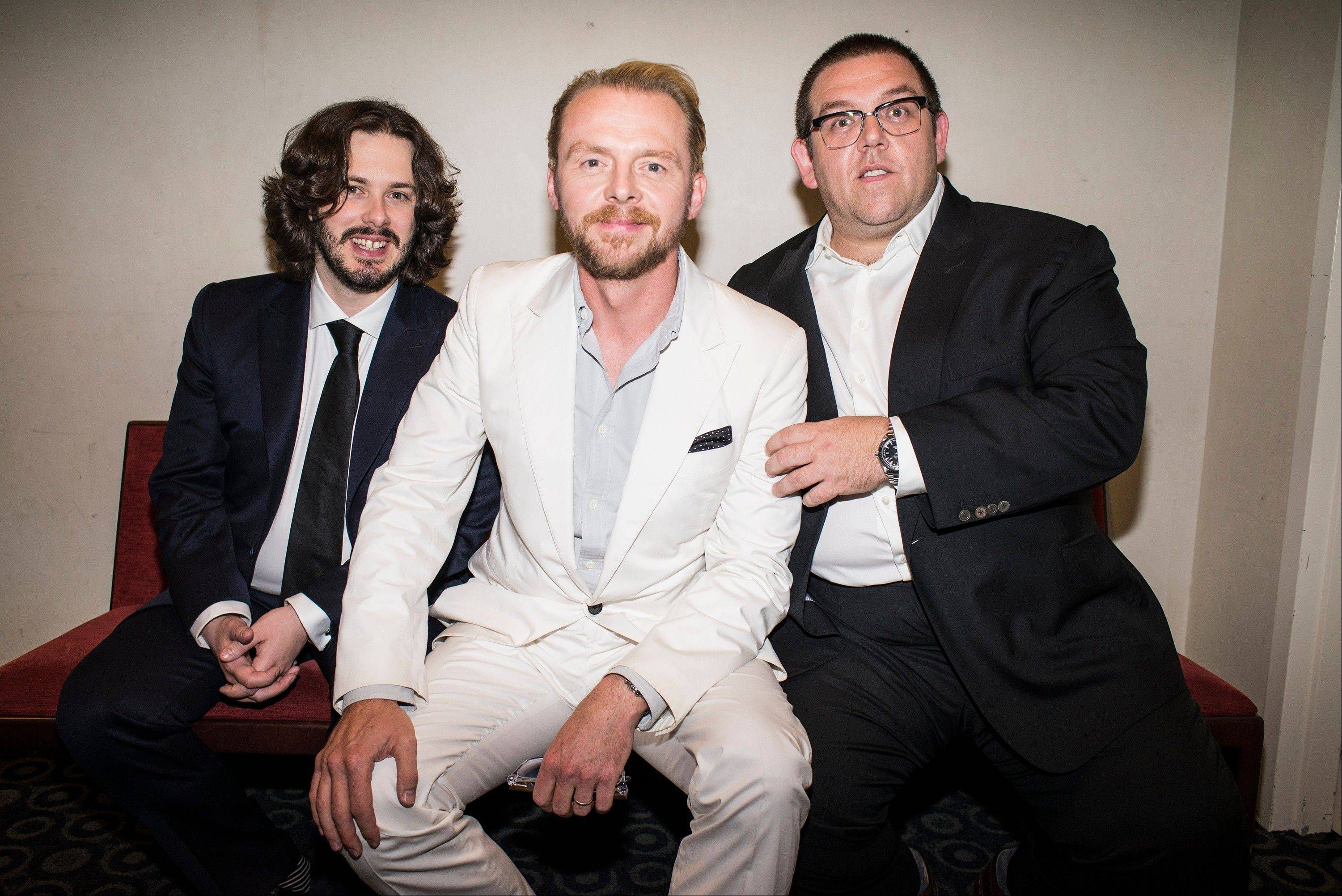 It�s not the end of the world, but �The World�s End� marks a creative conclusion for director Edgar Wright, left, actor Simon Pegg and actor Nick Frost. For the British trio behind �Shaun of the Dead� and �Hot Fuzz,� the recent release of �The World�s End� completes a trilogy.