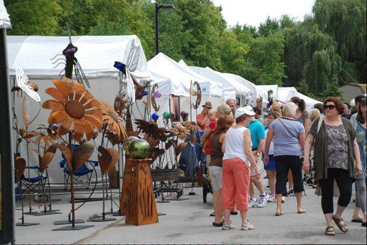 The 25th Annual Long Grove Fine Art and Wine Festival will feature the work of 100 juried artists plus food and wine.