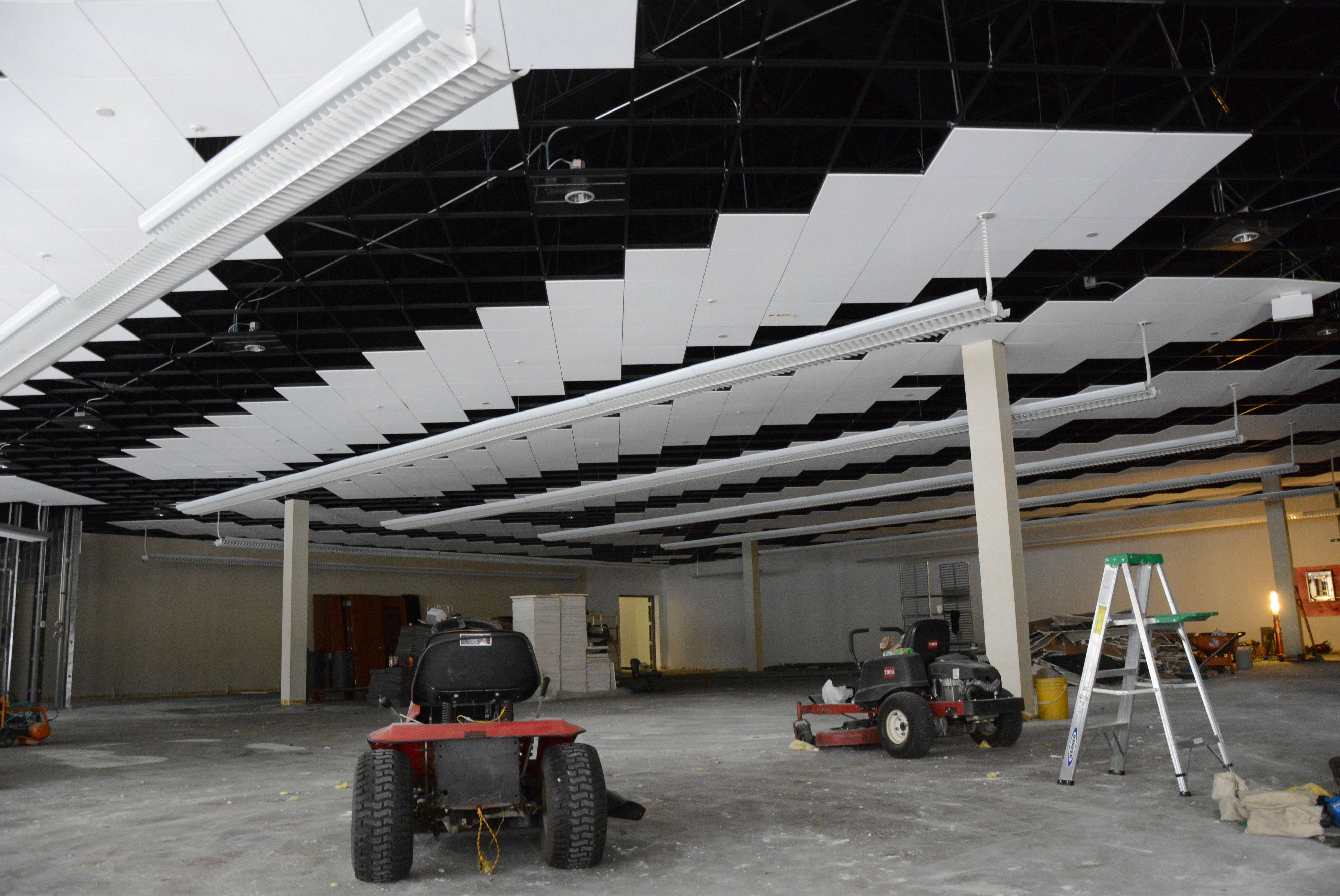 This is the interior of the new GiGi's Playhouse National Achievement Center under construction at 2350 Higgins Road in Hoffman Estates.